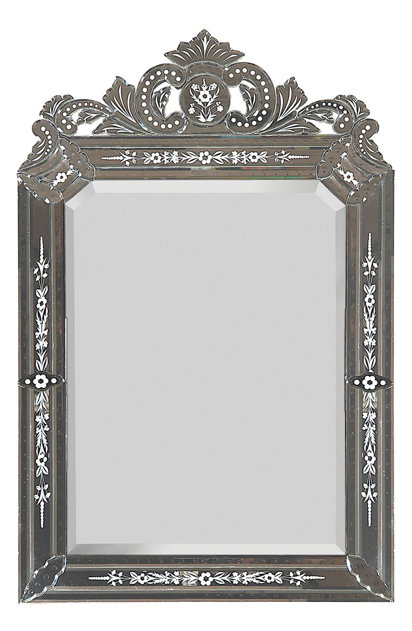 Mansard Mirror,                         Main,                         color, Glass