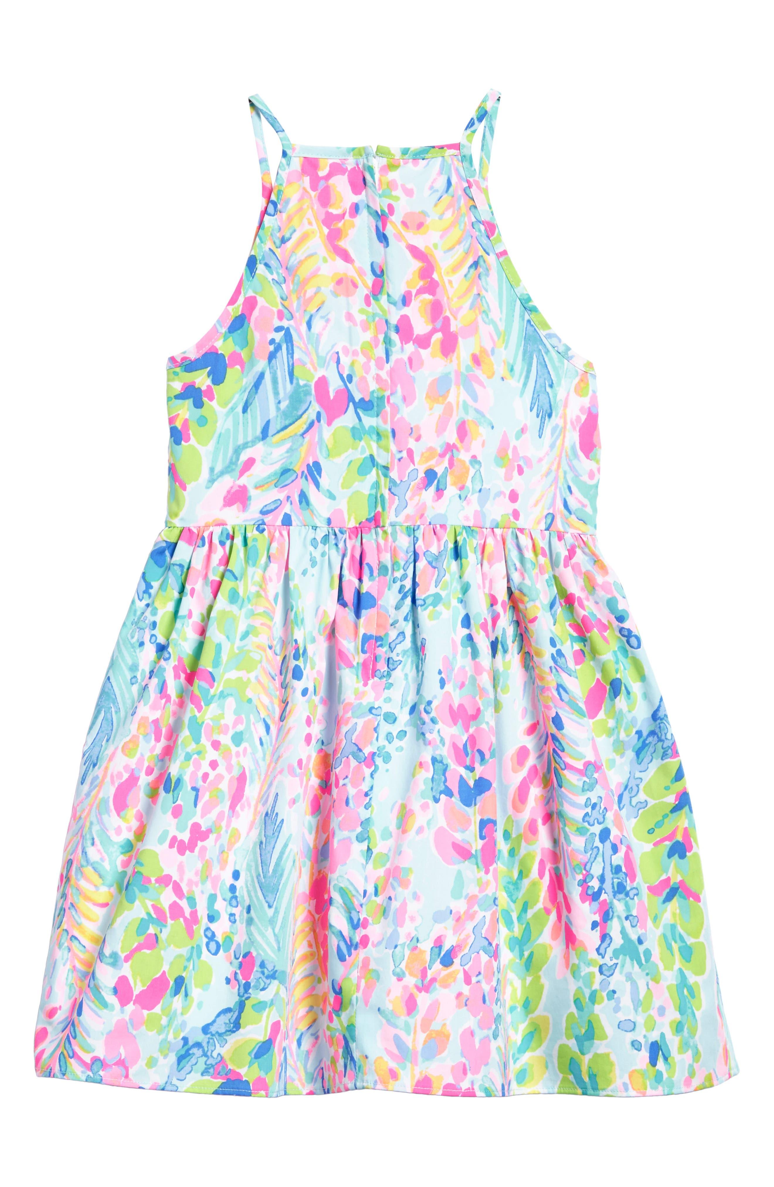 Alternate Image 3  - Lilly Pulitzer® Elize Fit & Flare Dress (Toddler Girls, Little Girls & Big Girls)