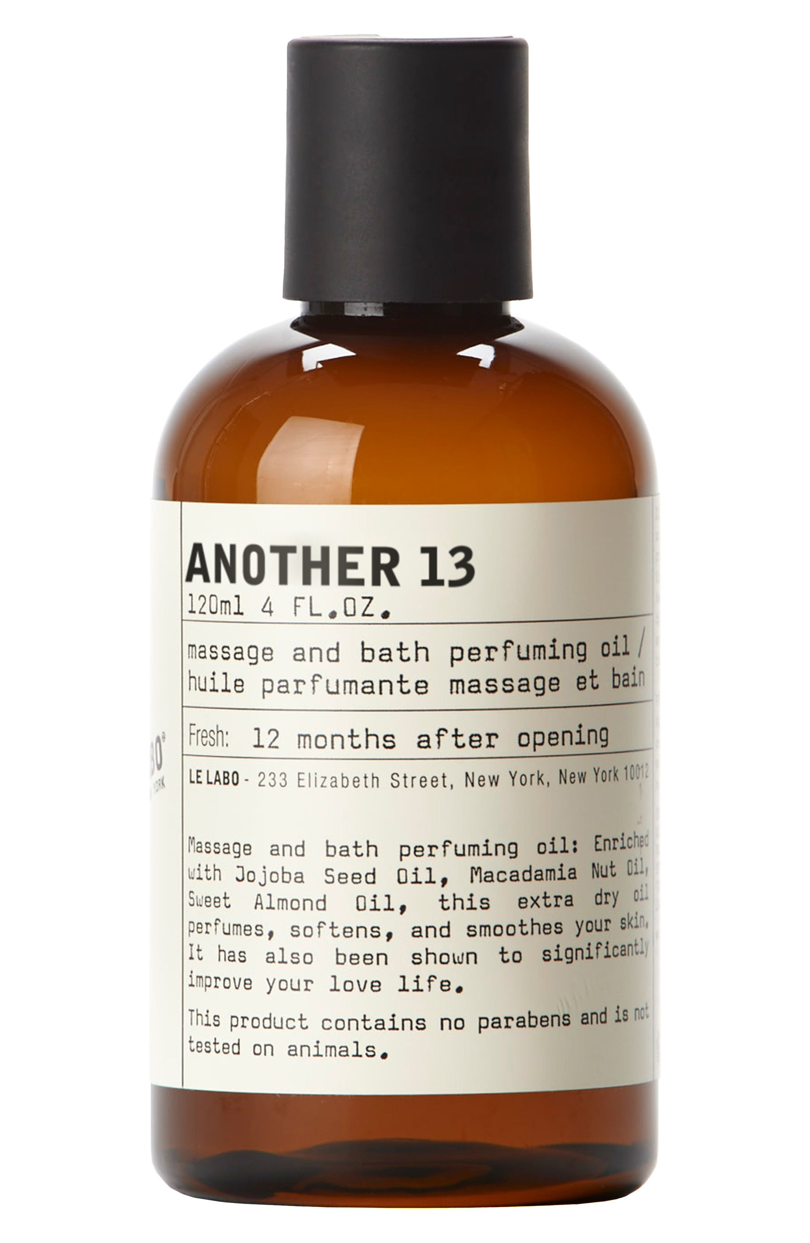 AnOther 13 Massage and Bath Perfuming Oil,                             Main thumbnail 1, color,                             No Color
