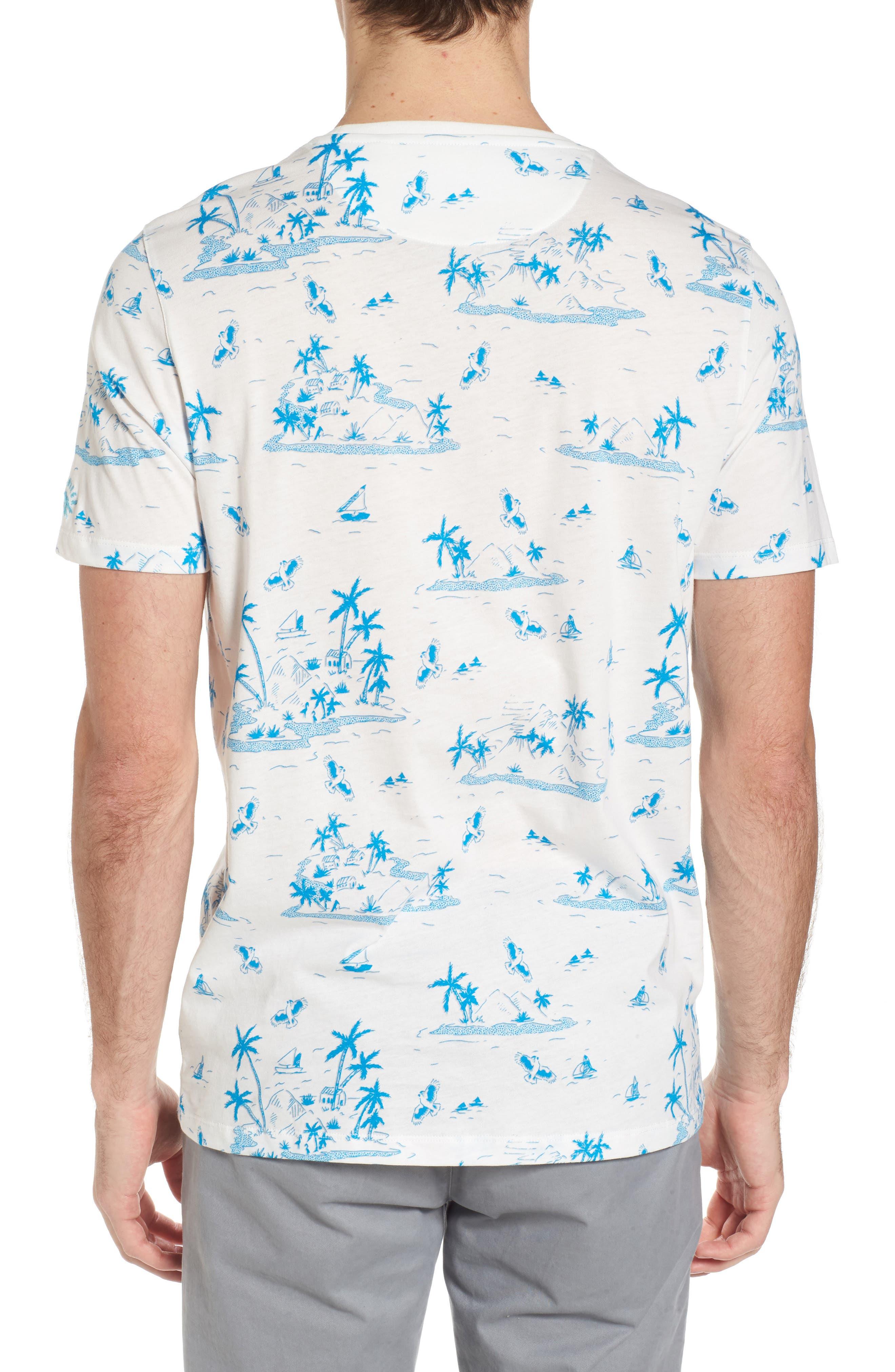 Alternate Image 2  - Ted Baker London Lamp Island Print T-Shirt