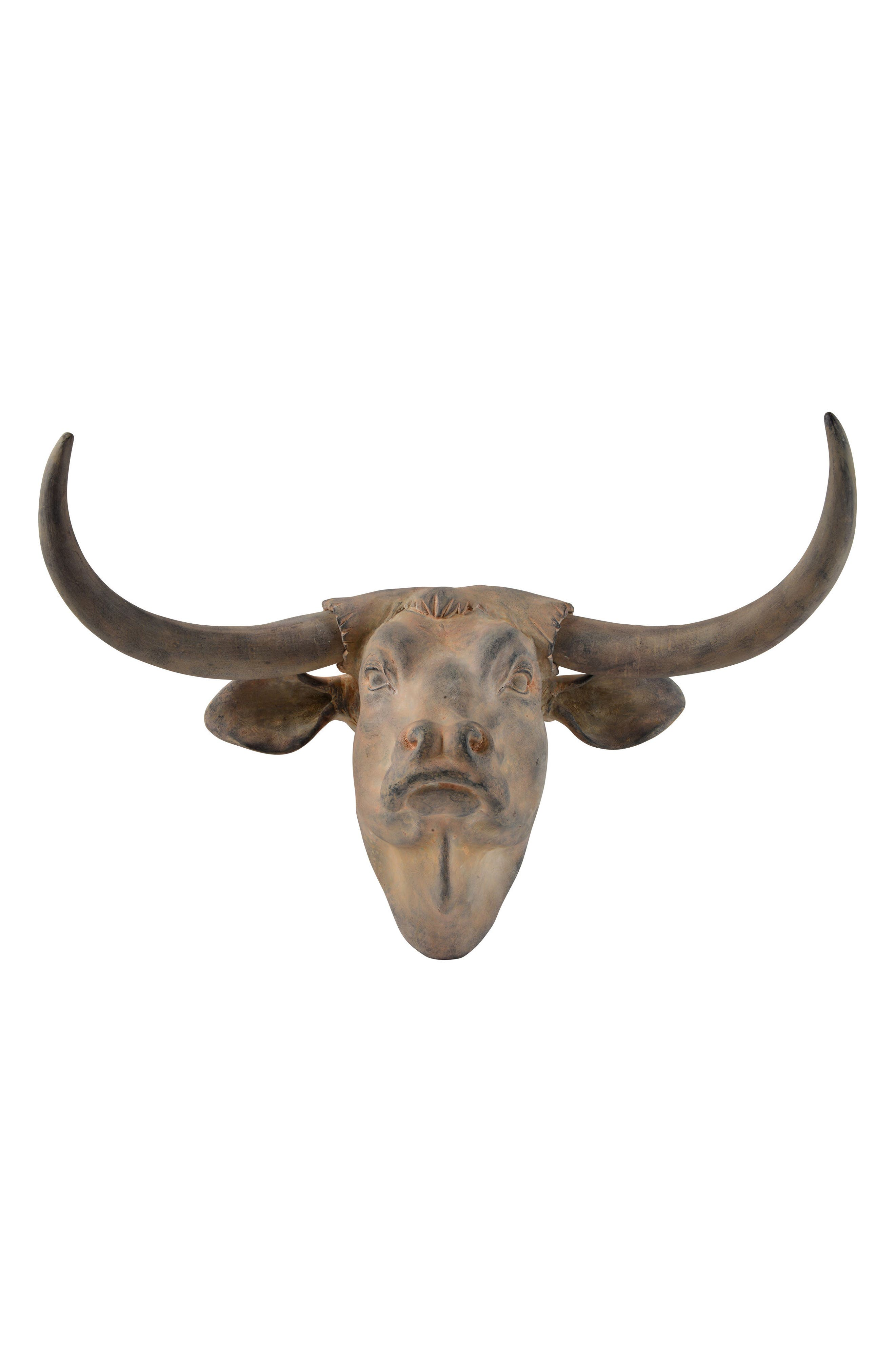 Buffalo Bust,                             Main thumbnail 1, color,                             Antique Brown