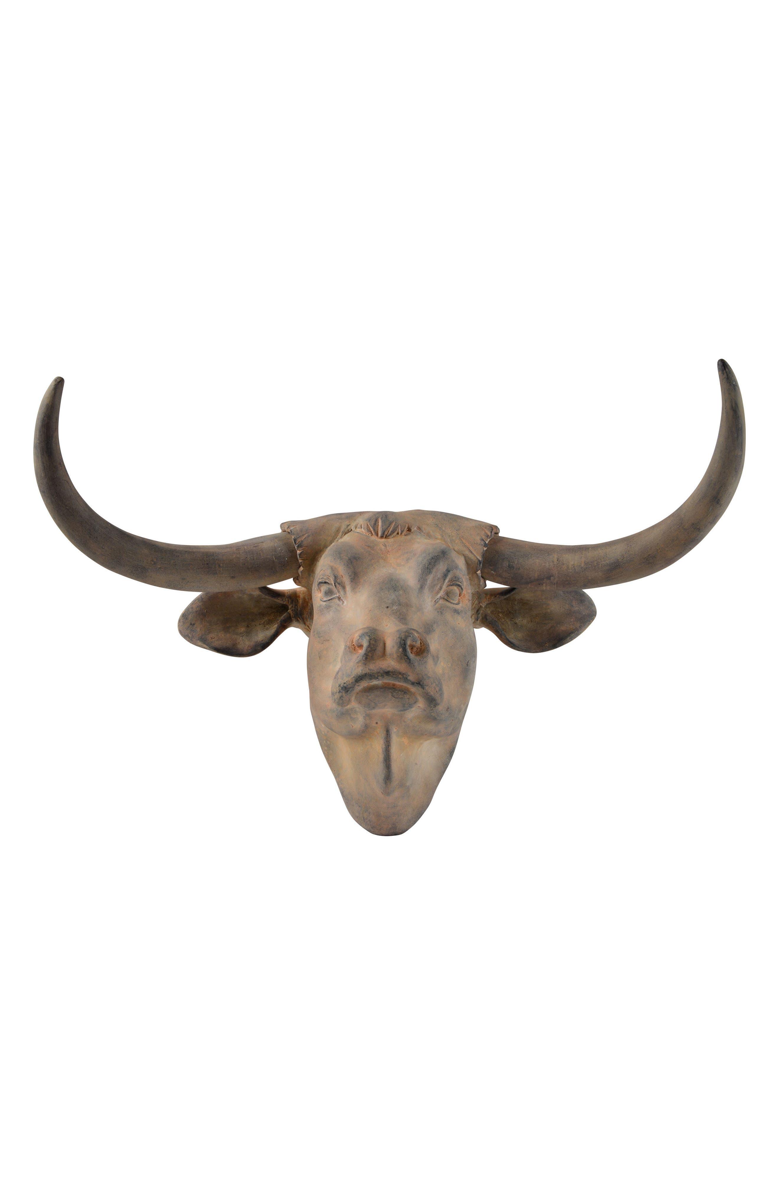 Buffalo Bust,                         Main,                         color, Antique Brown