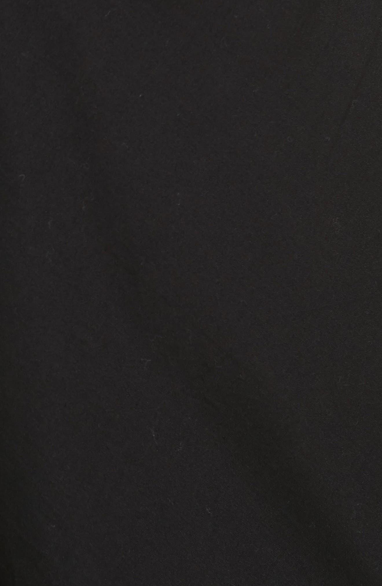 Overlay Shorts,                             Alternate thumbnail 5, color,                             Black