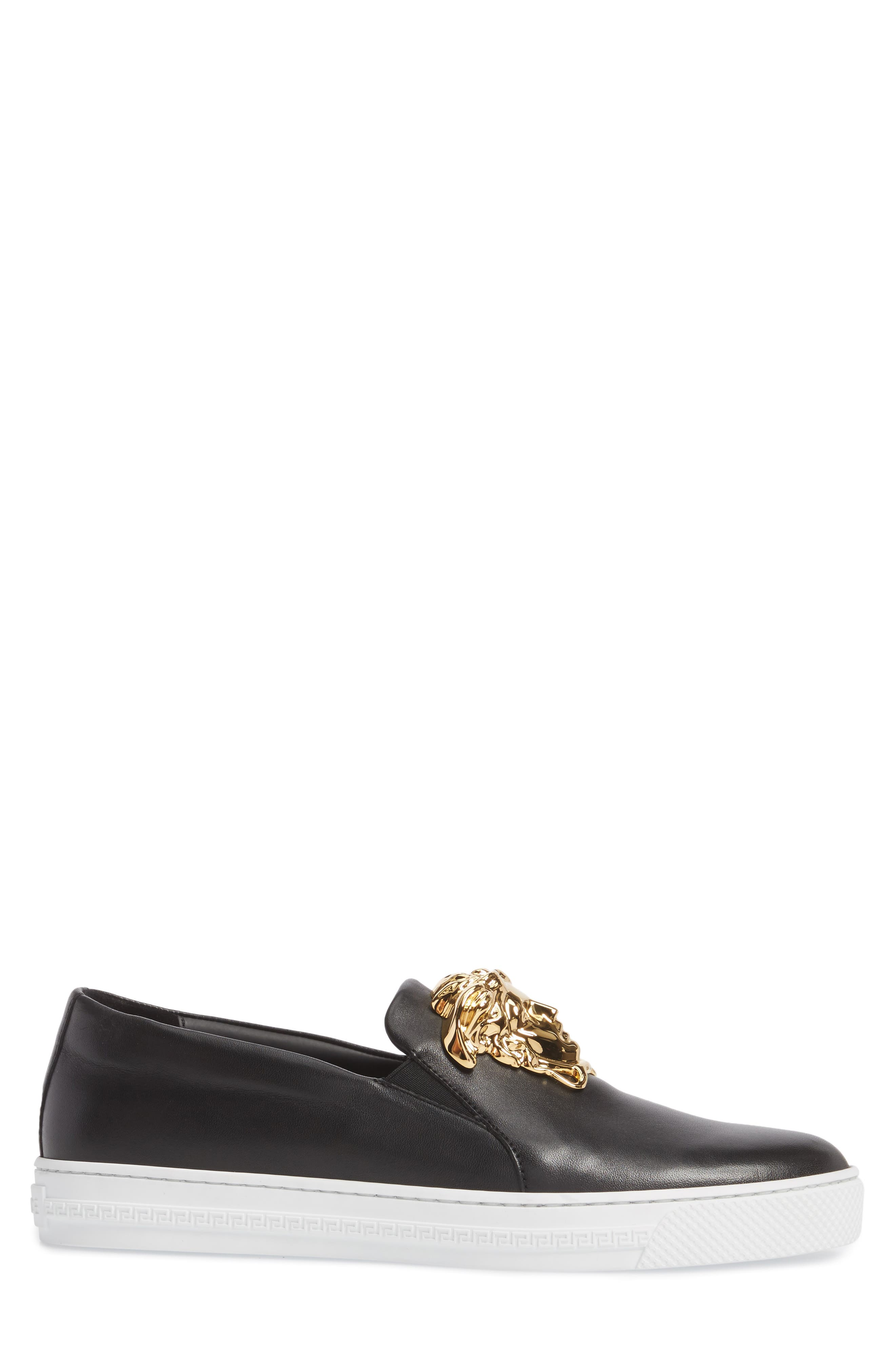 Alternate Image 3  - Versace First Line Iconic Palazzo Slip-On (Men)