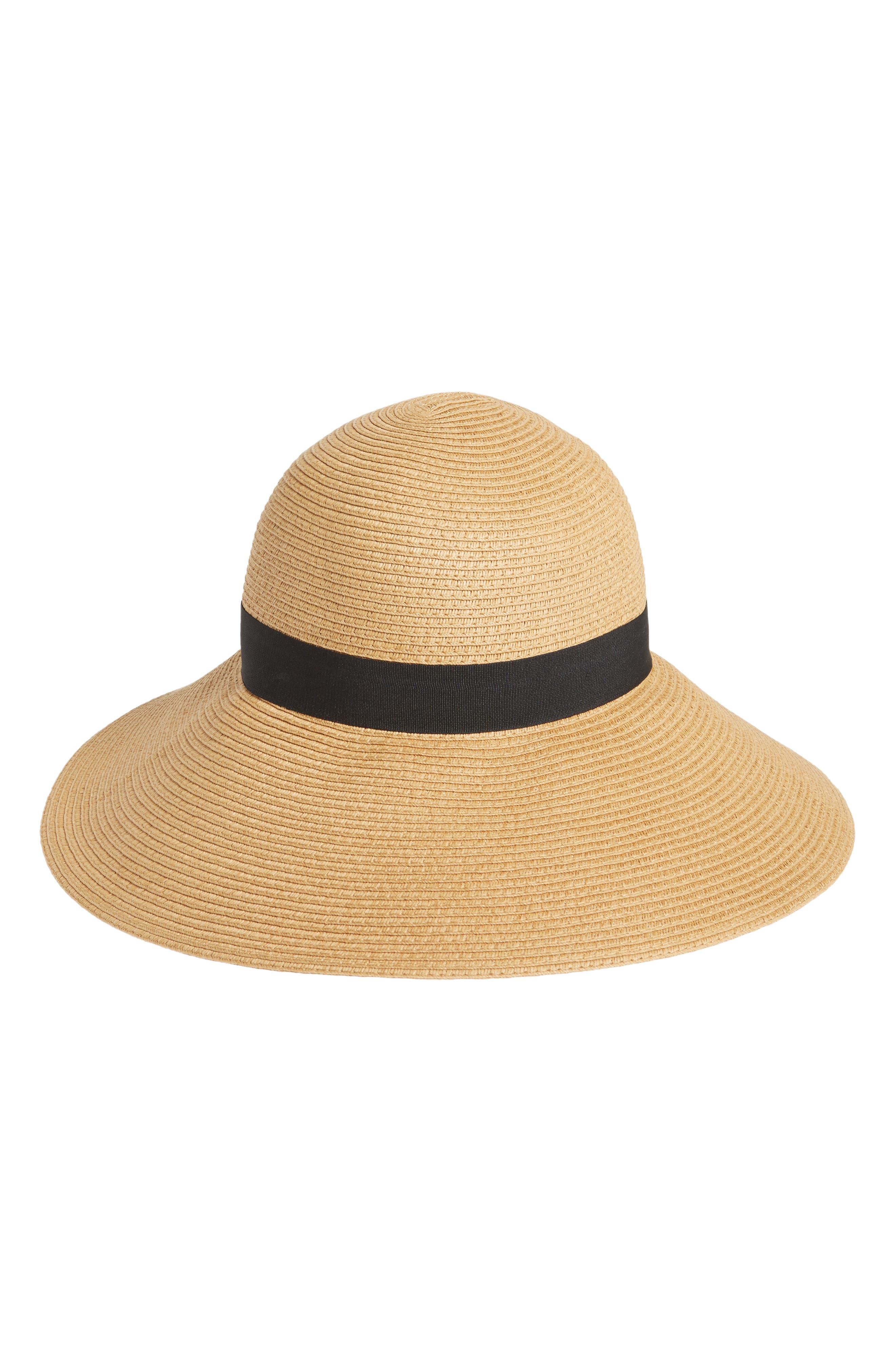 Halogen<sup>®</sup> Floppy Hat,                             Main thumbnail 1, color,                             Tan Dark Natural