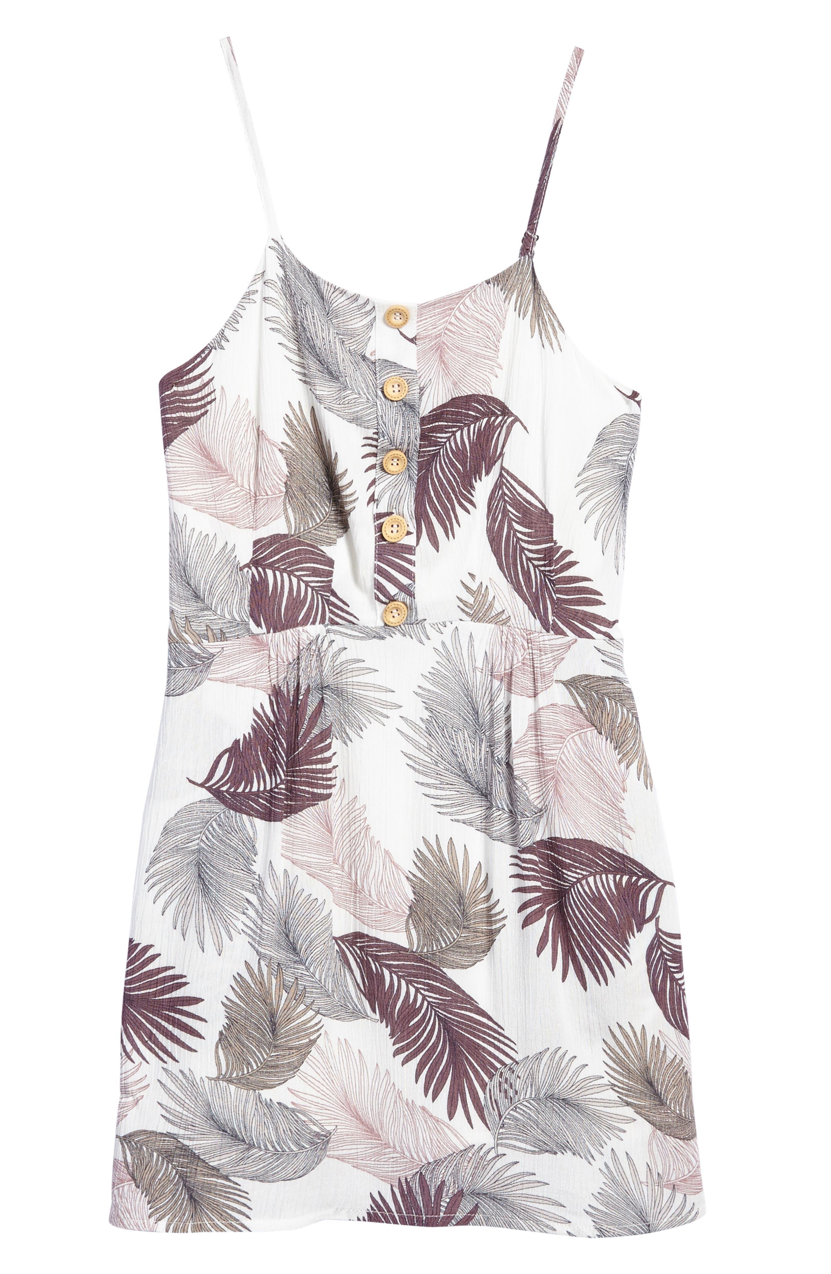 Alternate Image 1 Selected - For All Seasons Print Tank Dress (Big Girls)