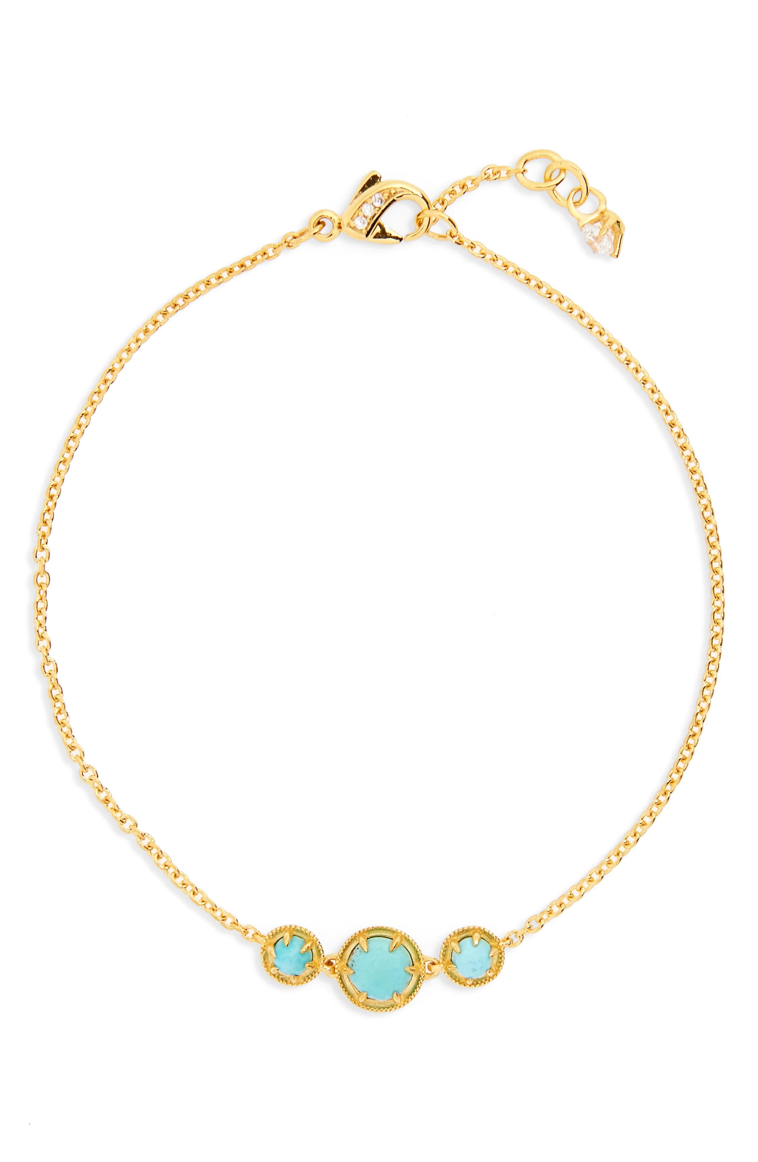 Nadri Cleo Semiprecious Doublet Bracelet