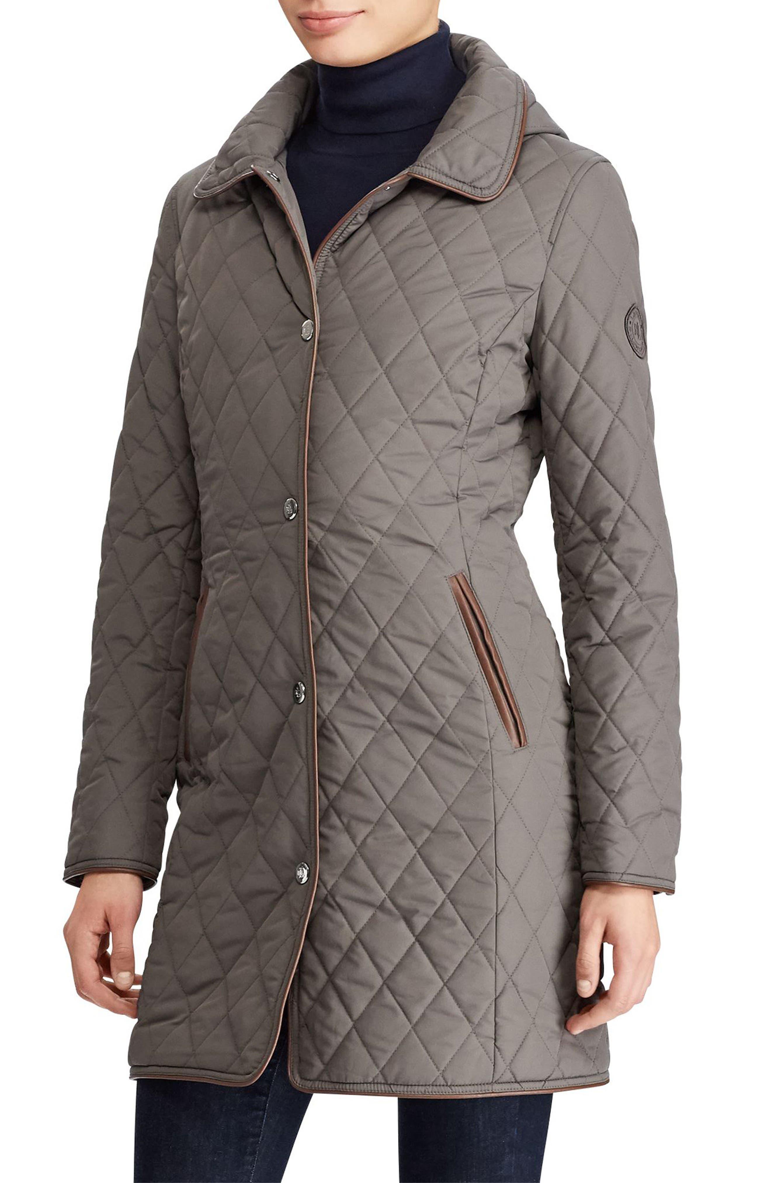 Lauren Ralph Lauren Quilted Hooded Jacket