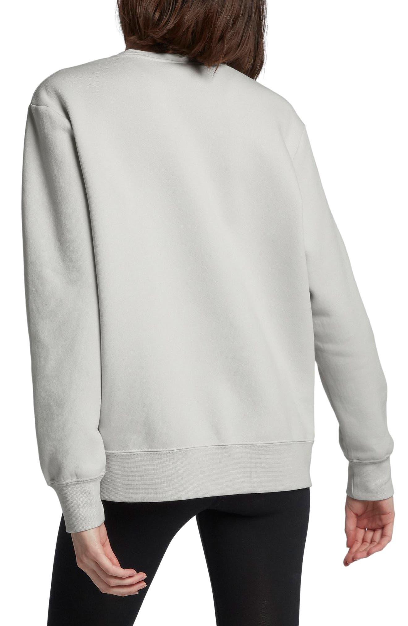 Sportswear Air Max 1 Women's Graphic Crewneck Sweatshirt,                             Alternate thumbnail 2, color,                             Vast Grey