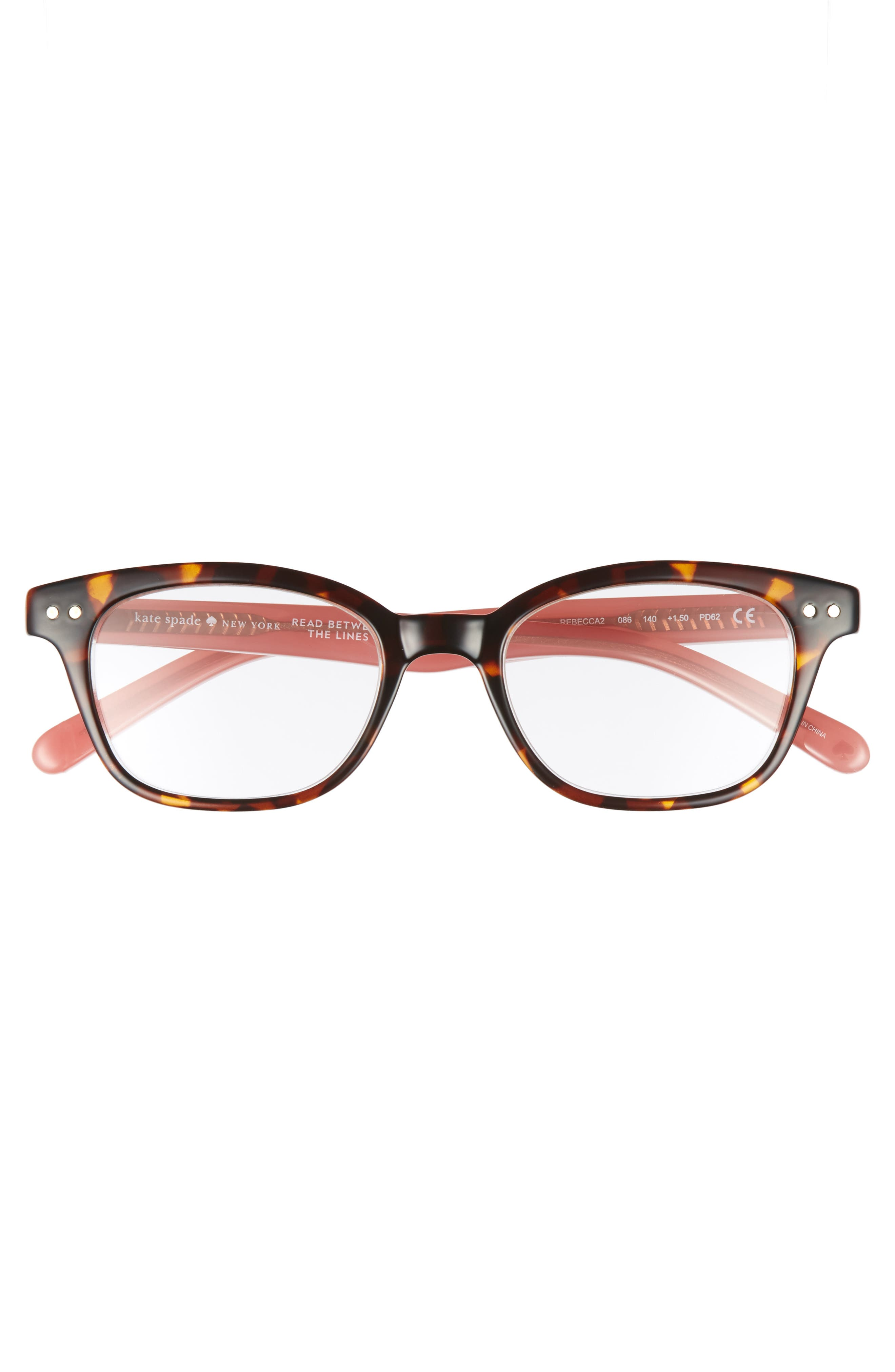 Alternate Image 2  - kate spade new york rebecca 47mm reading glasses