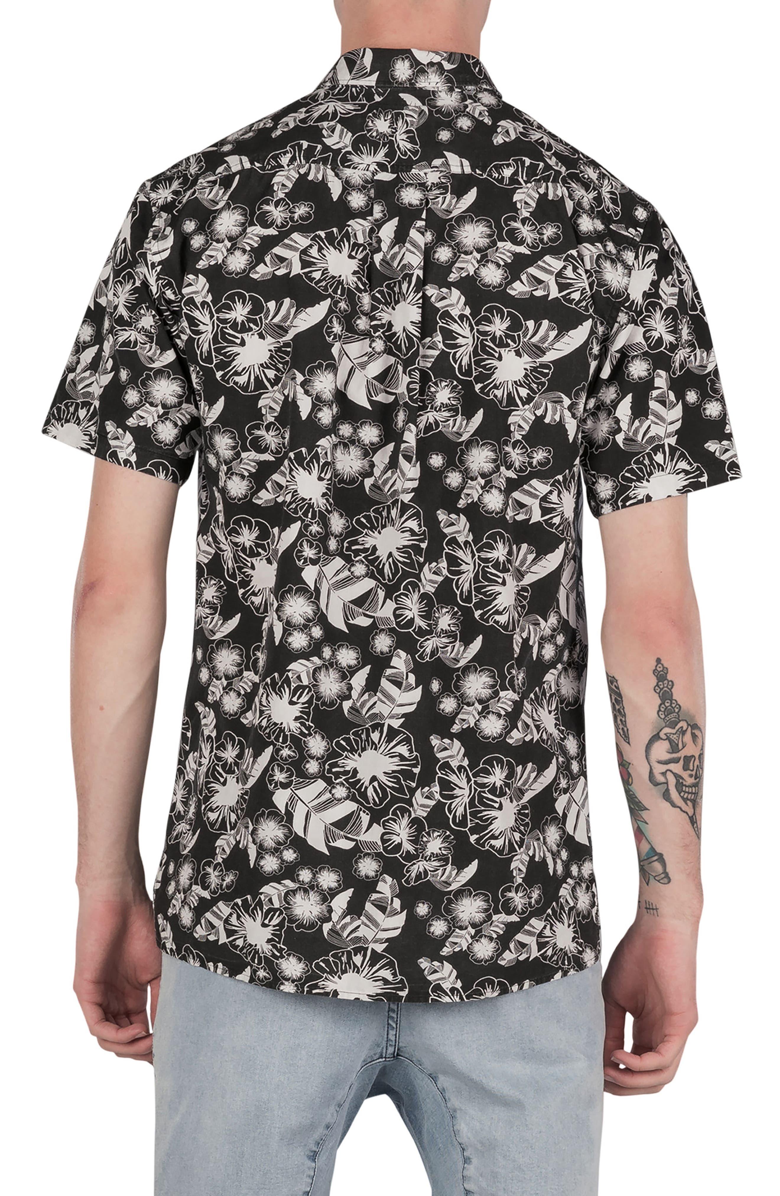 Kahuna Box Shirt,                             Alternate thumbnail 2, color,                             Black
