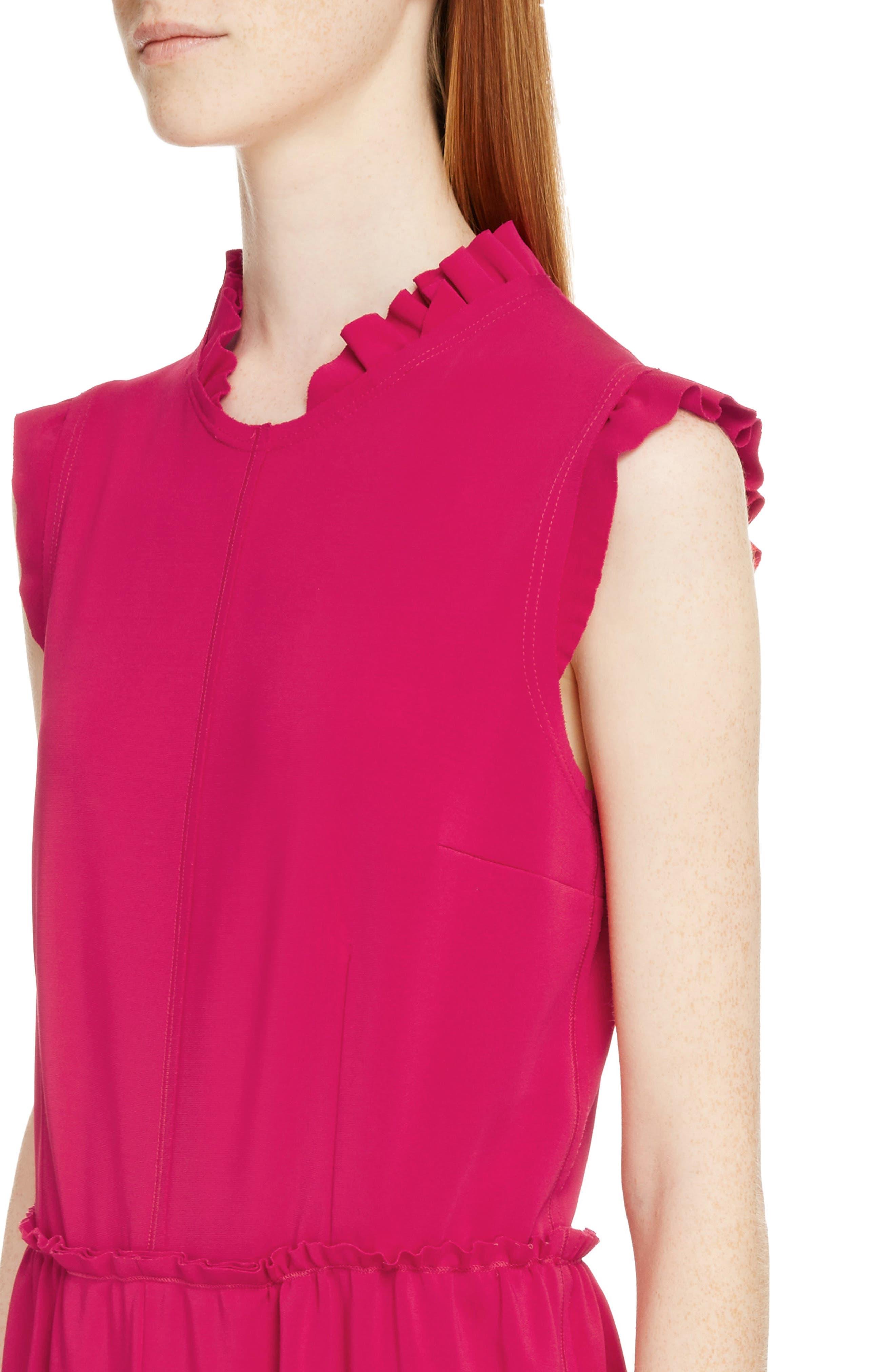Alternate Image 4  - Givenchy Ruffle Trim Jersey Dress