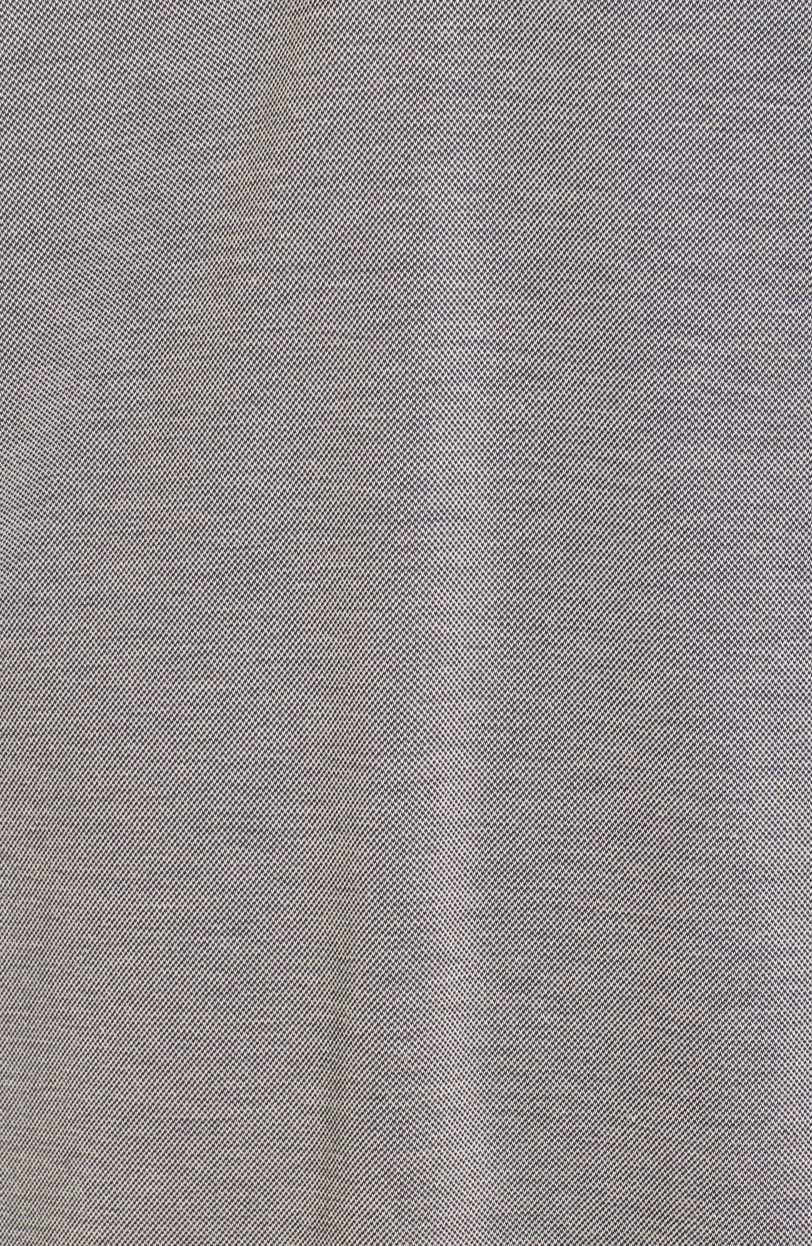 Tizu Trim Fit Polo Shirt,                             Alternate thumbnail 5, color,                             Navy