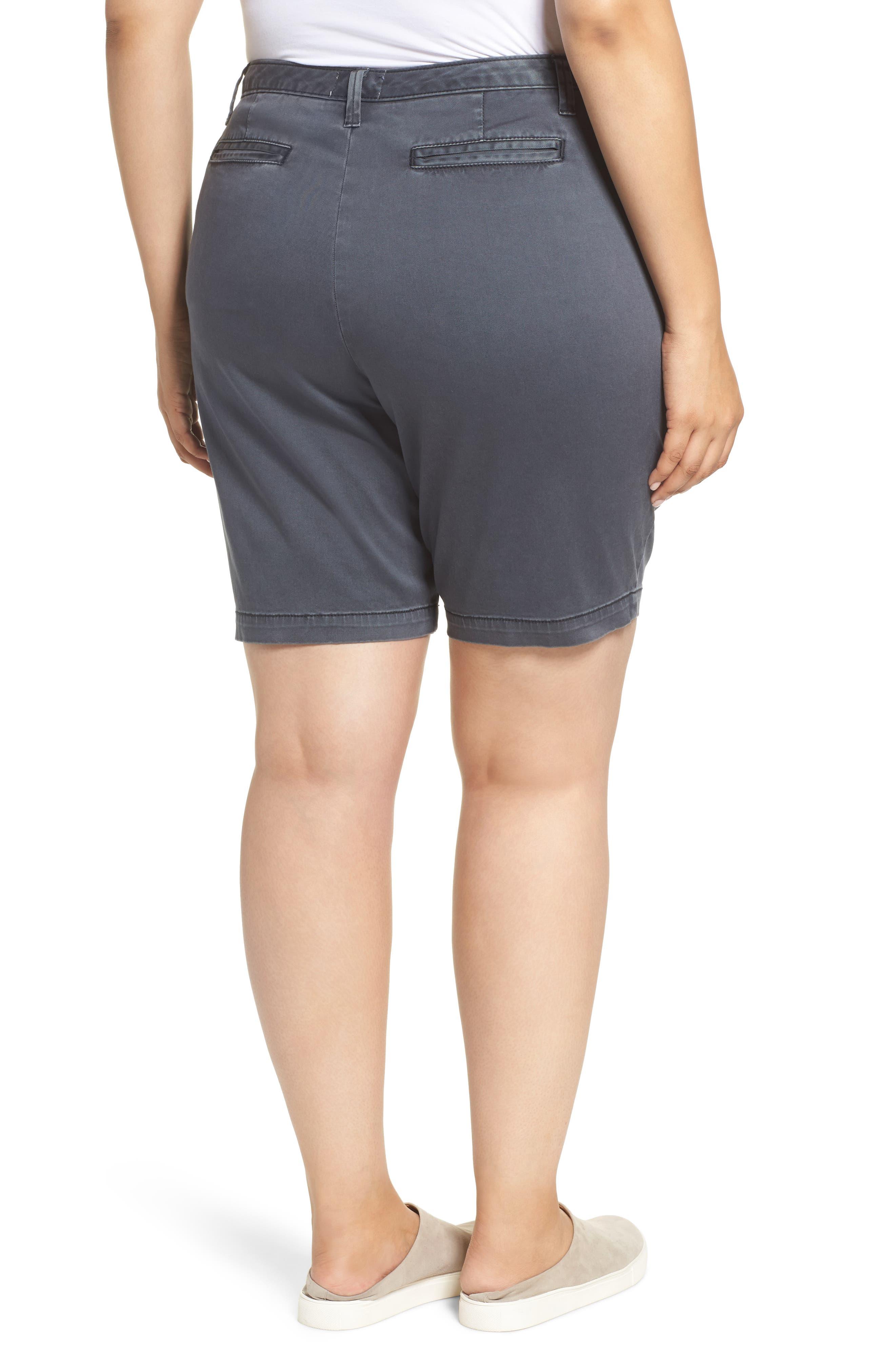 Twill Shorts,                             Alternate thumbnail 2, color,                             Grey Ebony