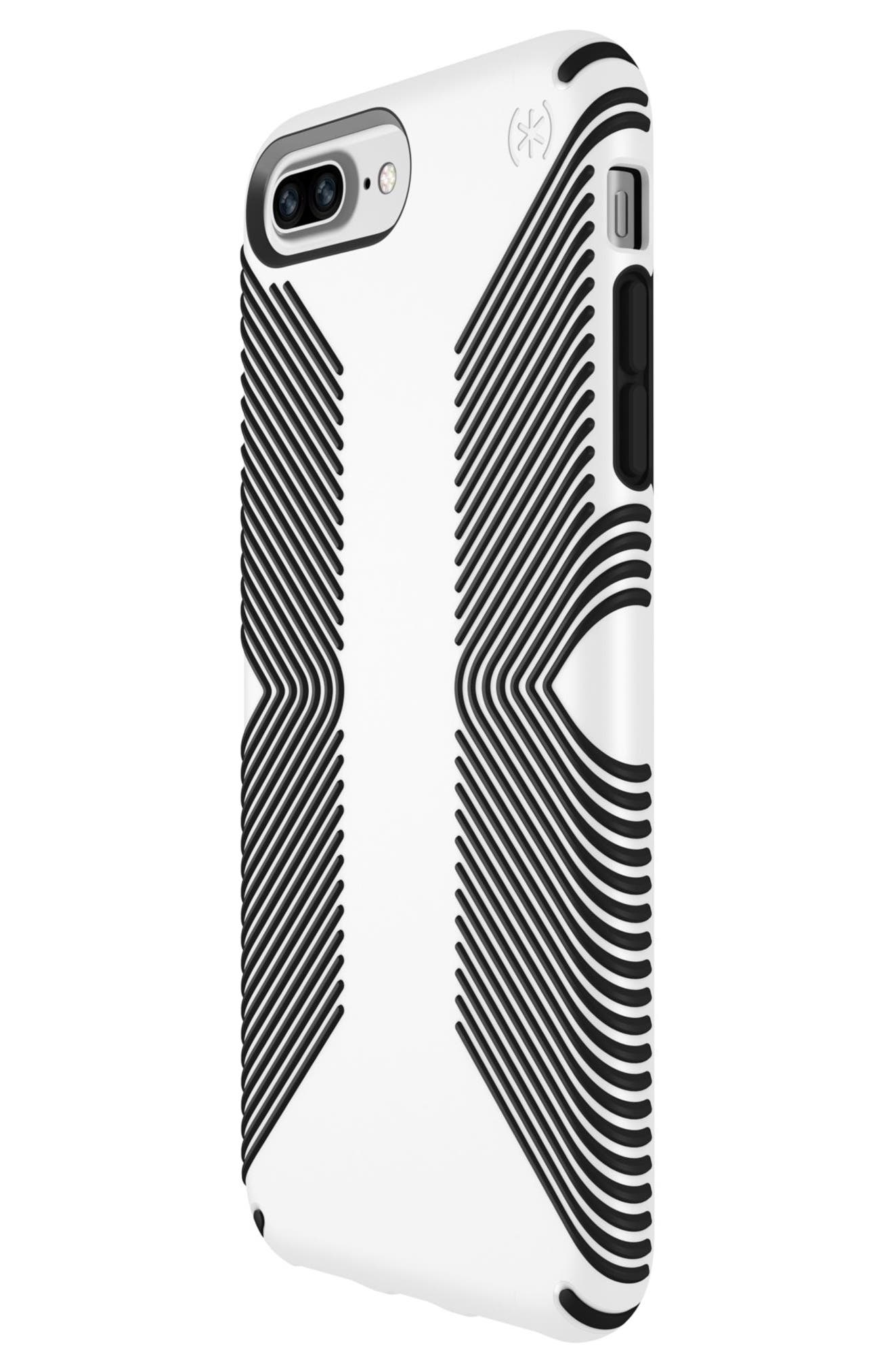 Grip iPhone 6/6s/7/8 Plus Case,                             Alternate thumbnail 3, color,                             White/ Black