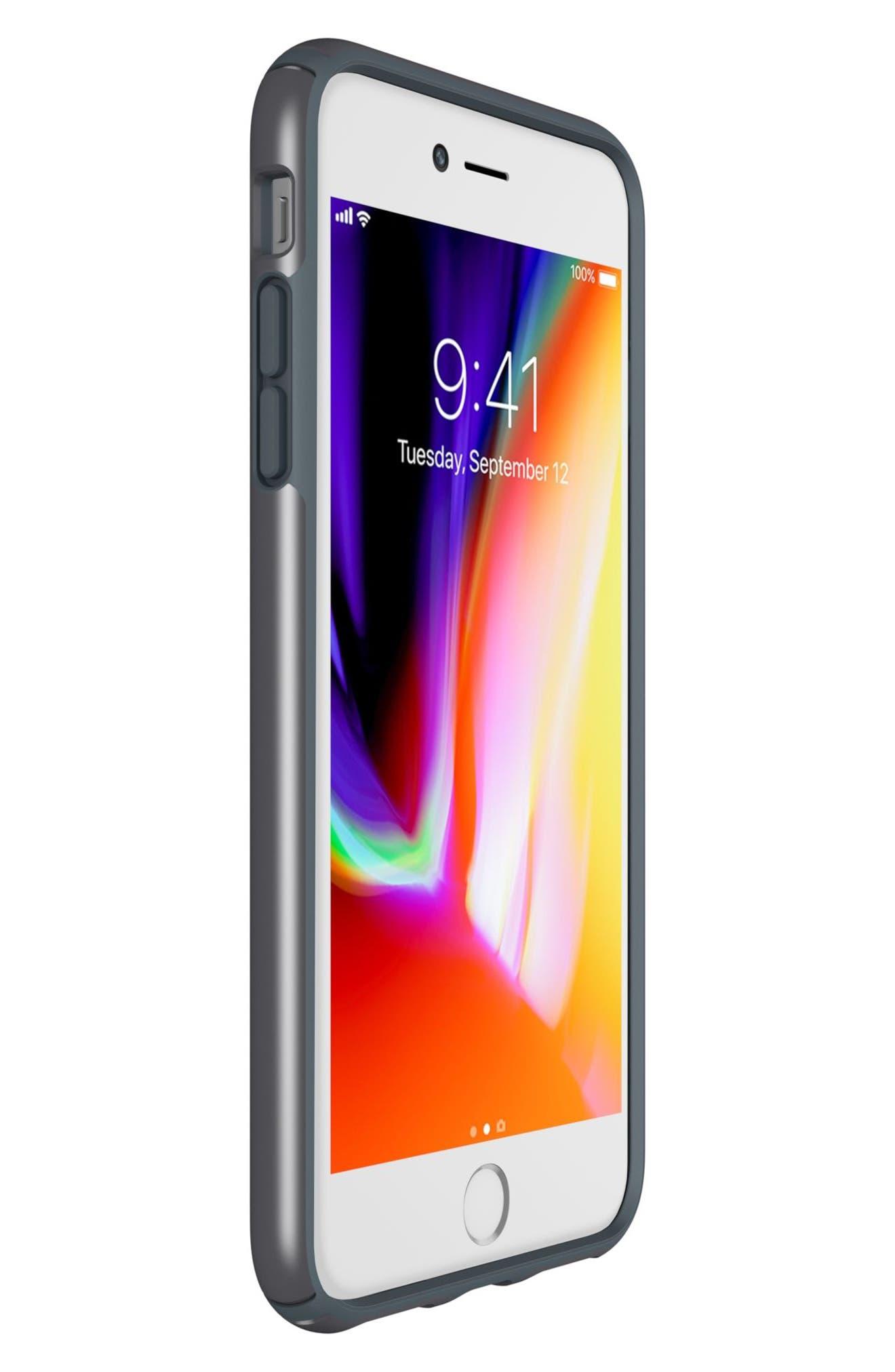 iPhone 6/6s/7/8 Case,                             Alternate thumbnail 7, color,                             Tungsten Grey Metallic/ Grey