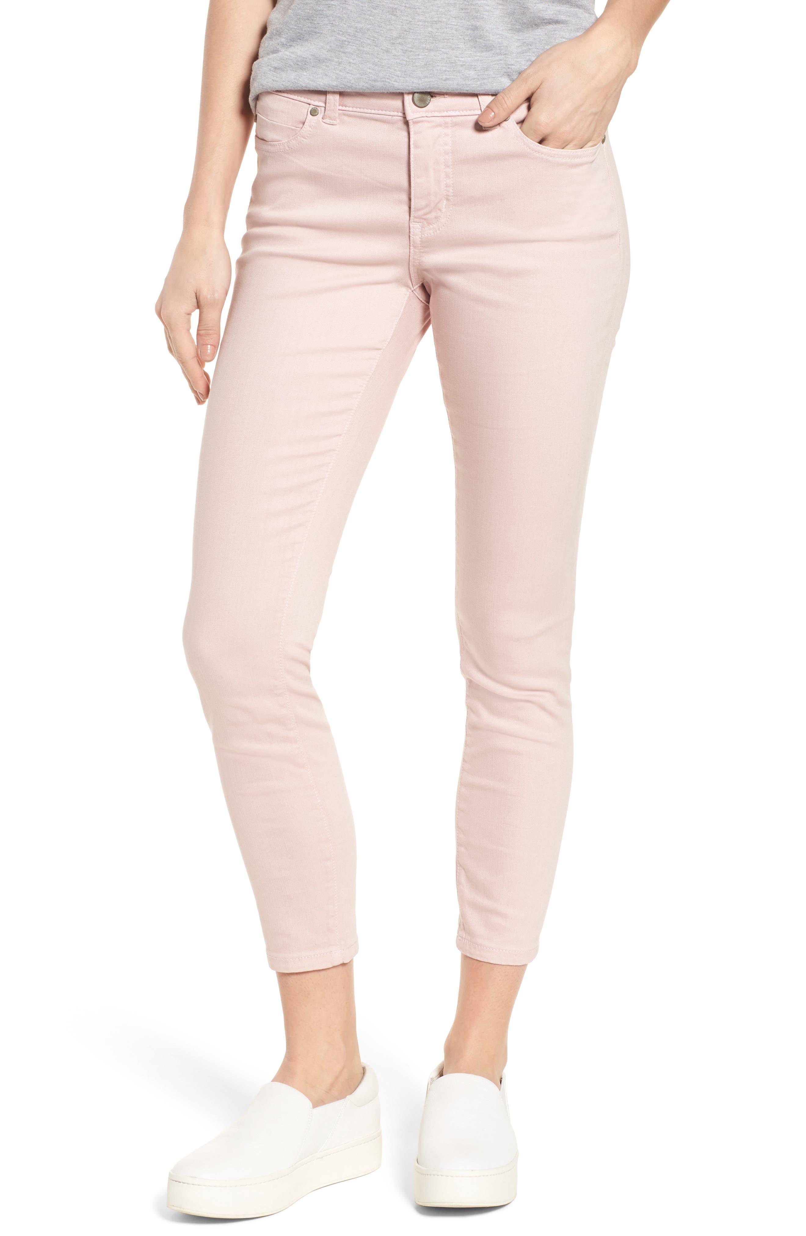 Caslon® Skinny Ankle Jeans (Regular & Petite)