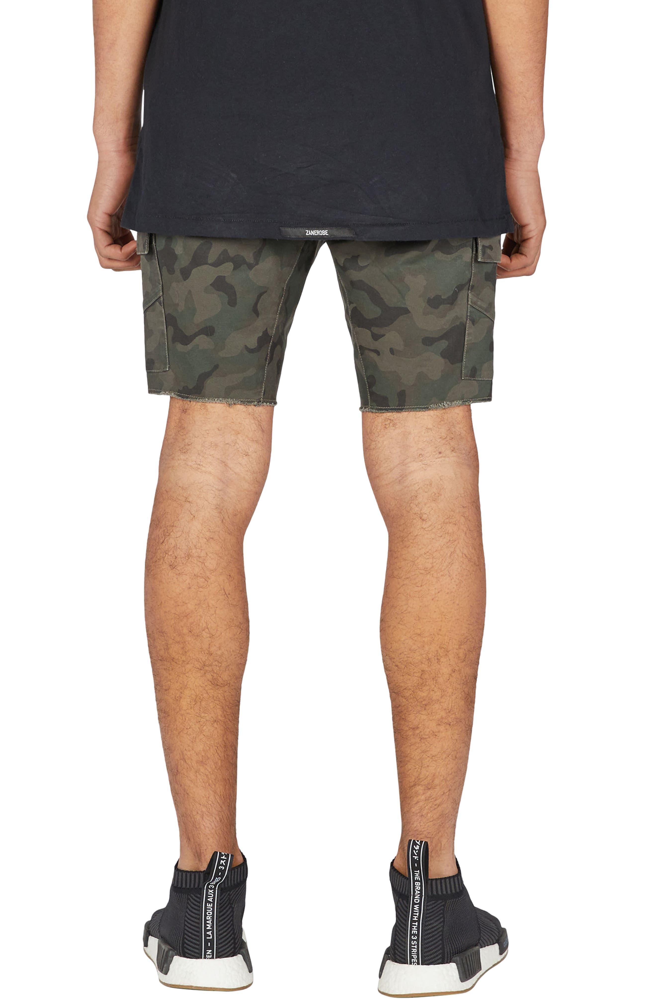 Sureshot Camo Cargo Shorts,                             Alternate thumbnail 2, color,                             Camo