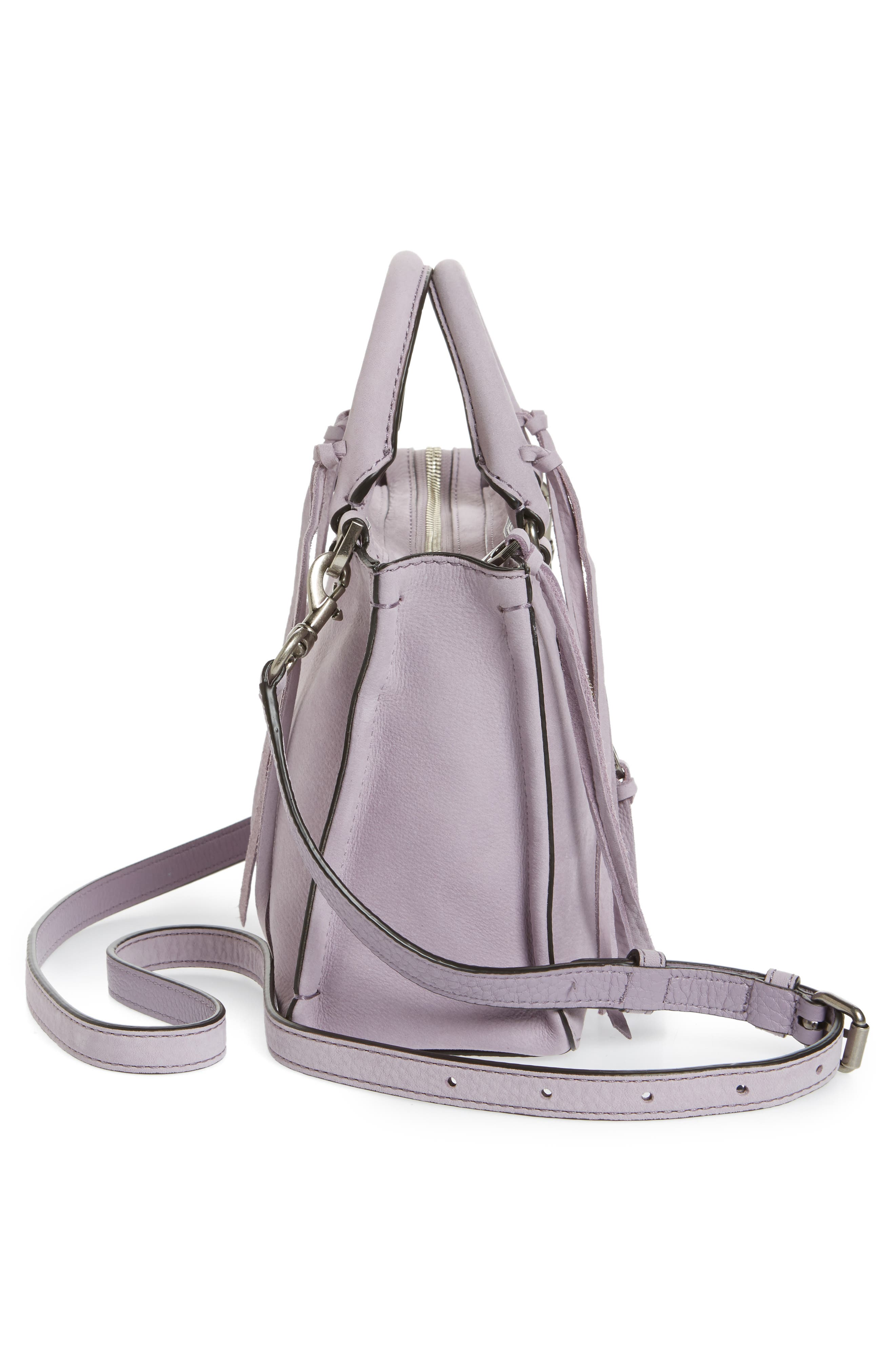Alternate Image 3  - Rebecca Minkoff Micro Regan Leather Satchel
