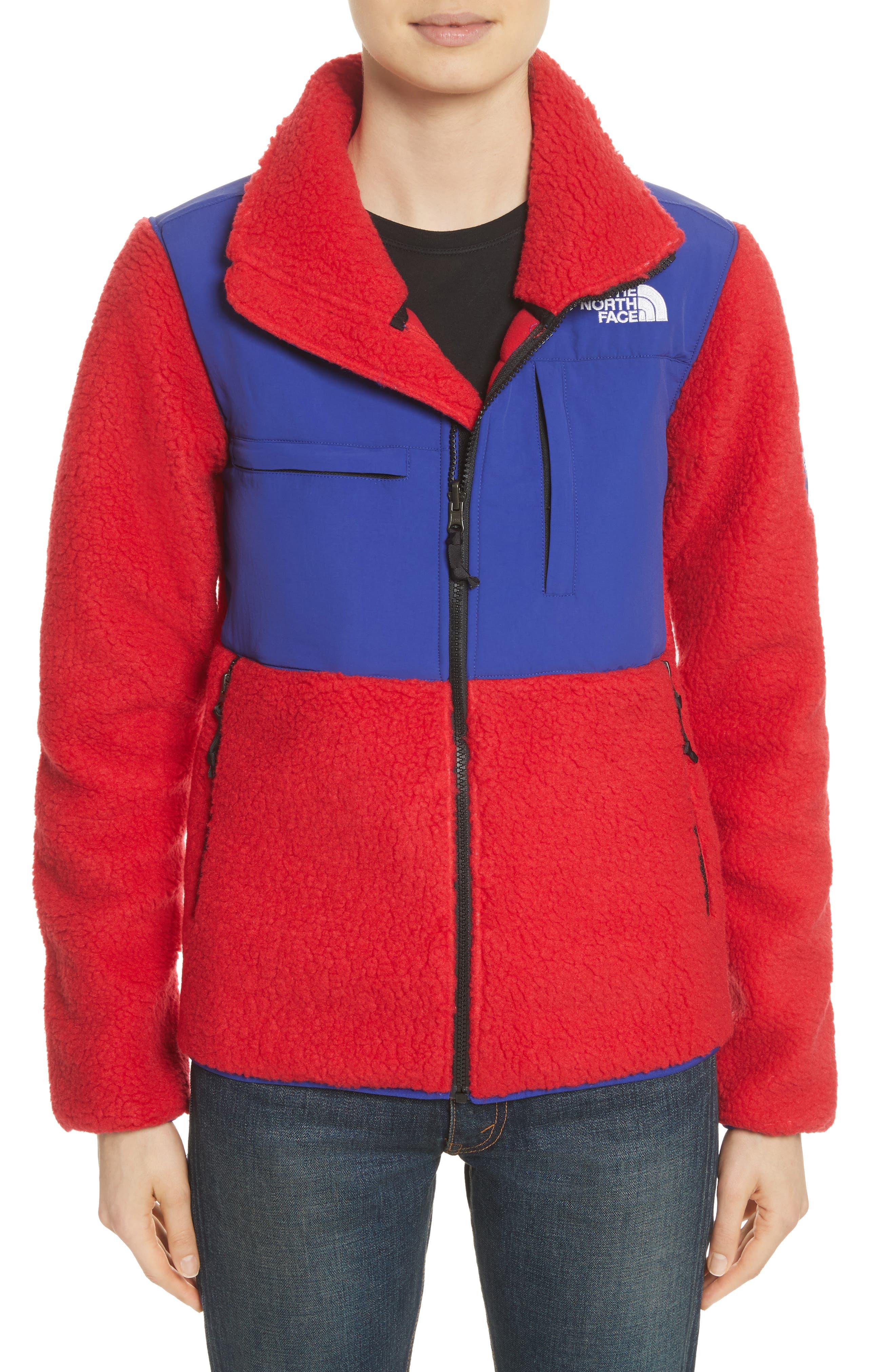 Denali Jacket,                             Alternate thumbnail 2, color,                             Tnf Red