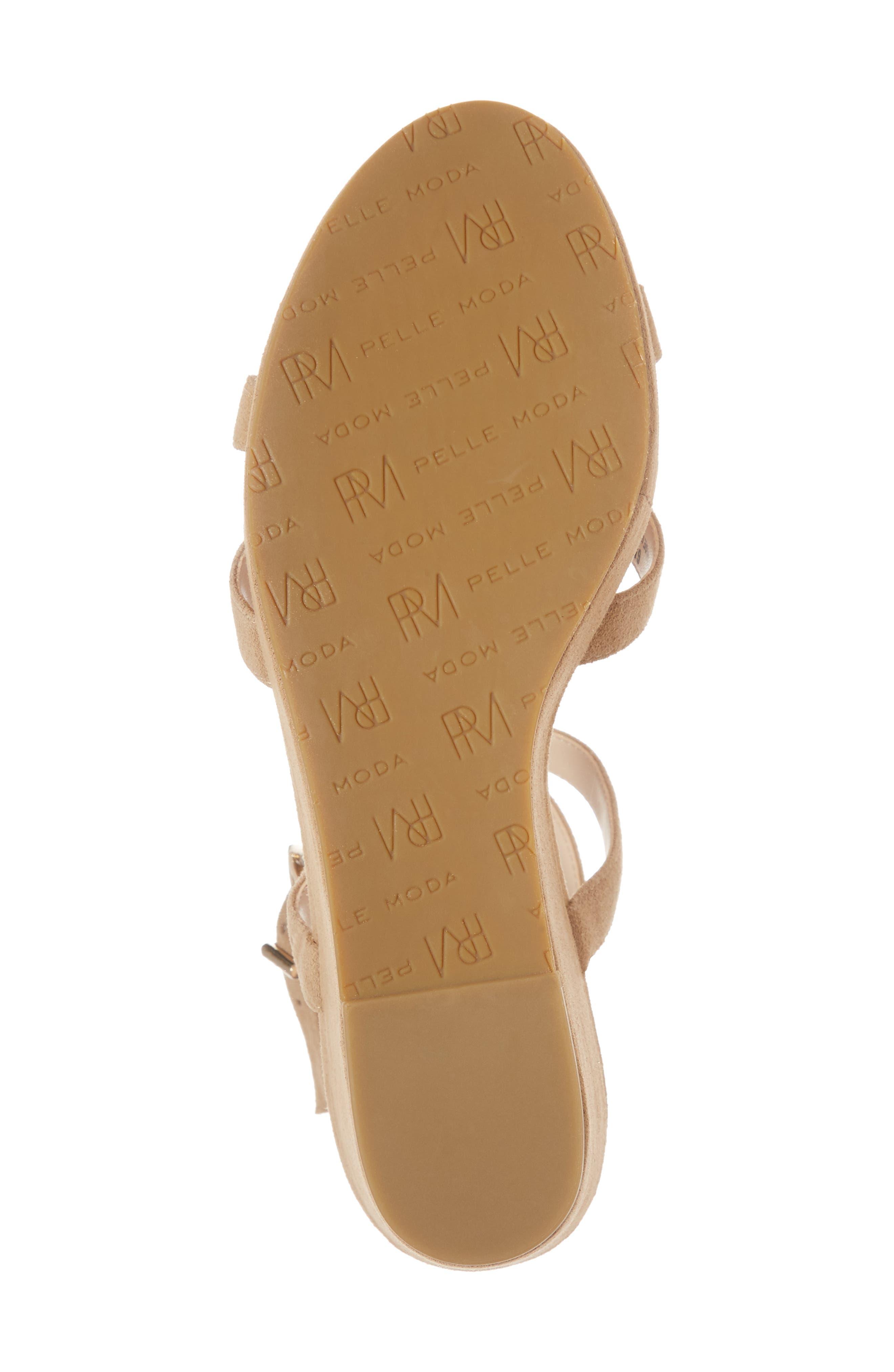 Alternate Image 6  - Pelle Moda Keo2 Platform Wedge Sandal (Women)