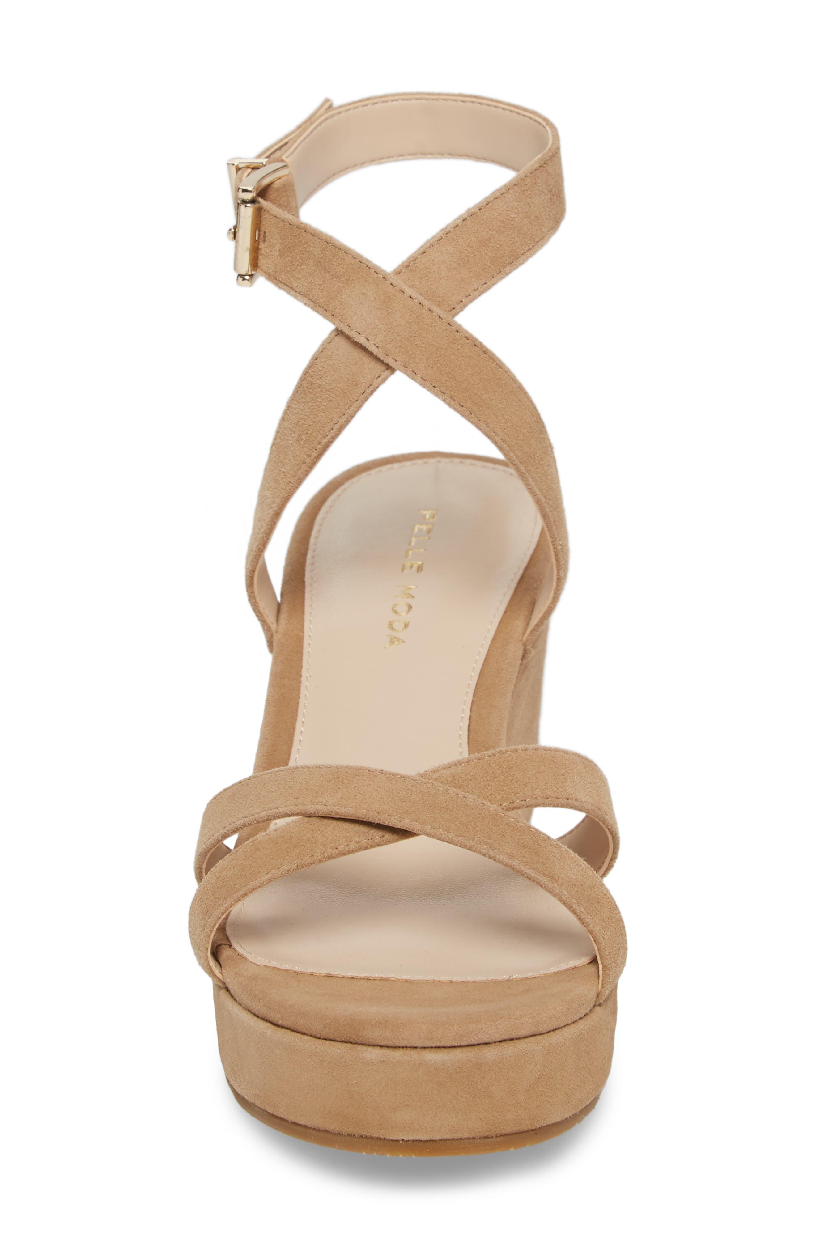 Alternate Image 4  - Pelle Moda Keo2 Platform Wedge Sandal (Women)