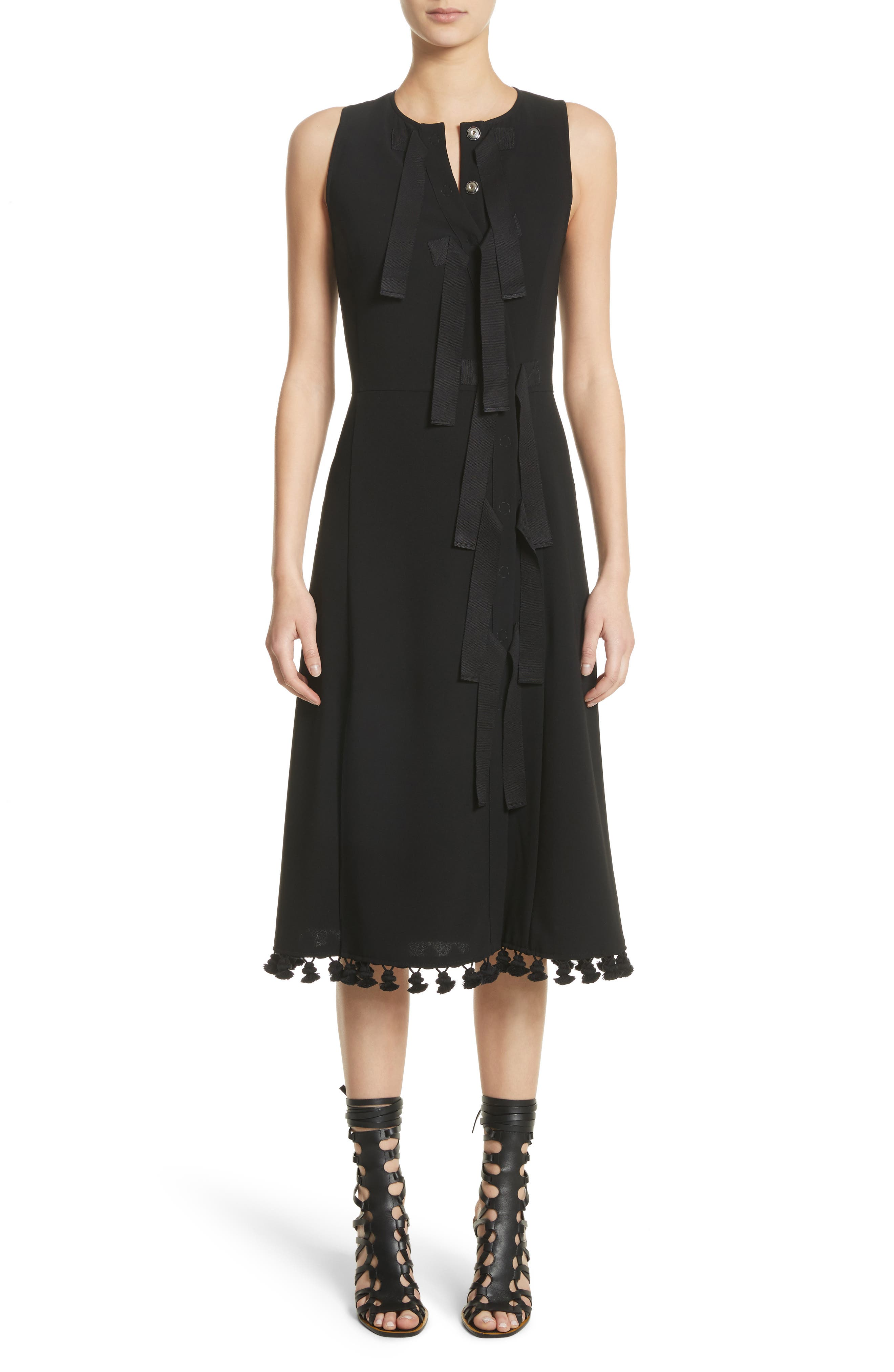 Altuzarra Grosgrain Tie Dress