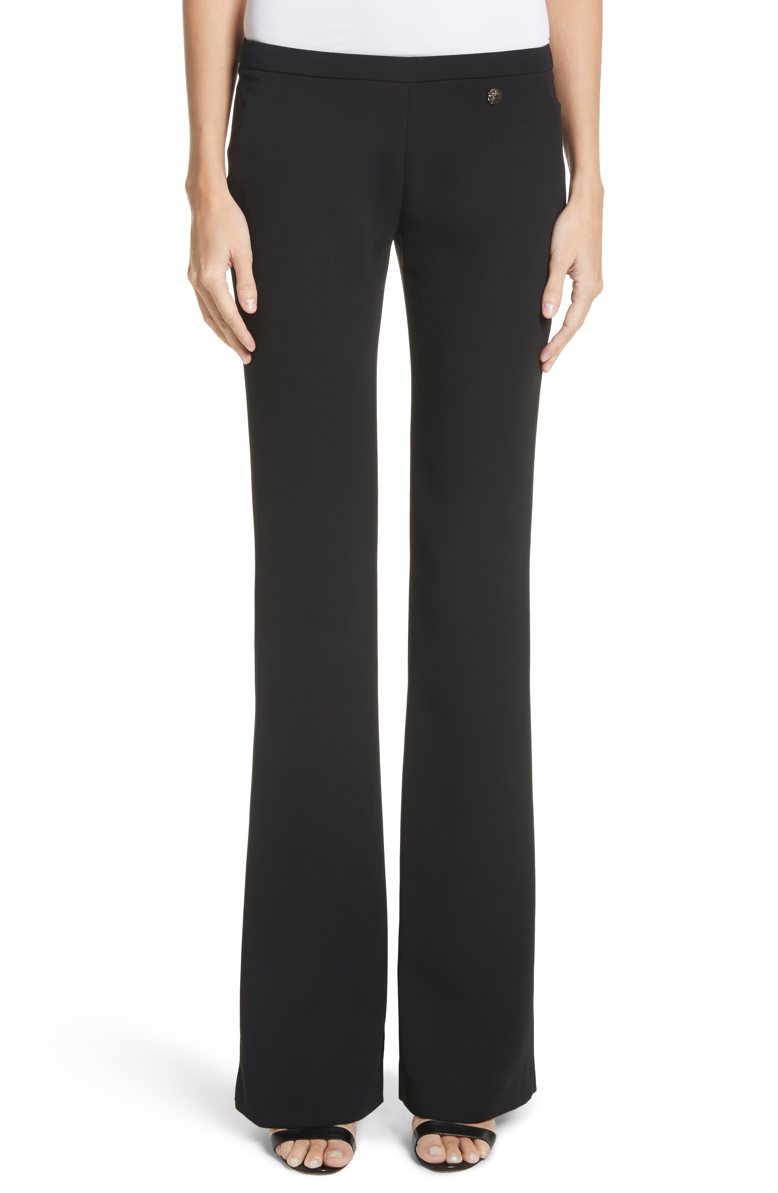 Cady Flare Pants,                         Main,                         color, Black