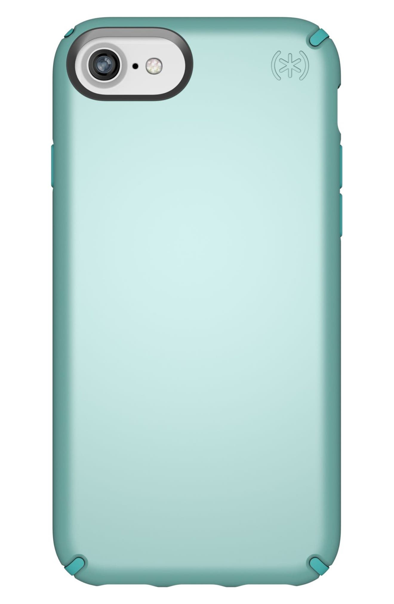 iPhone 6/6s/7/8 Case,                             Main thumbnail 1, color,                             Peppermint Green/ Teal