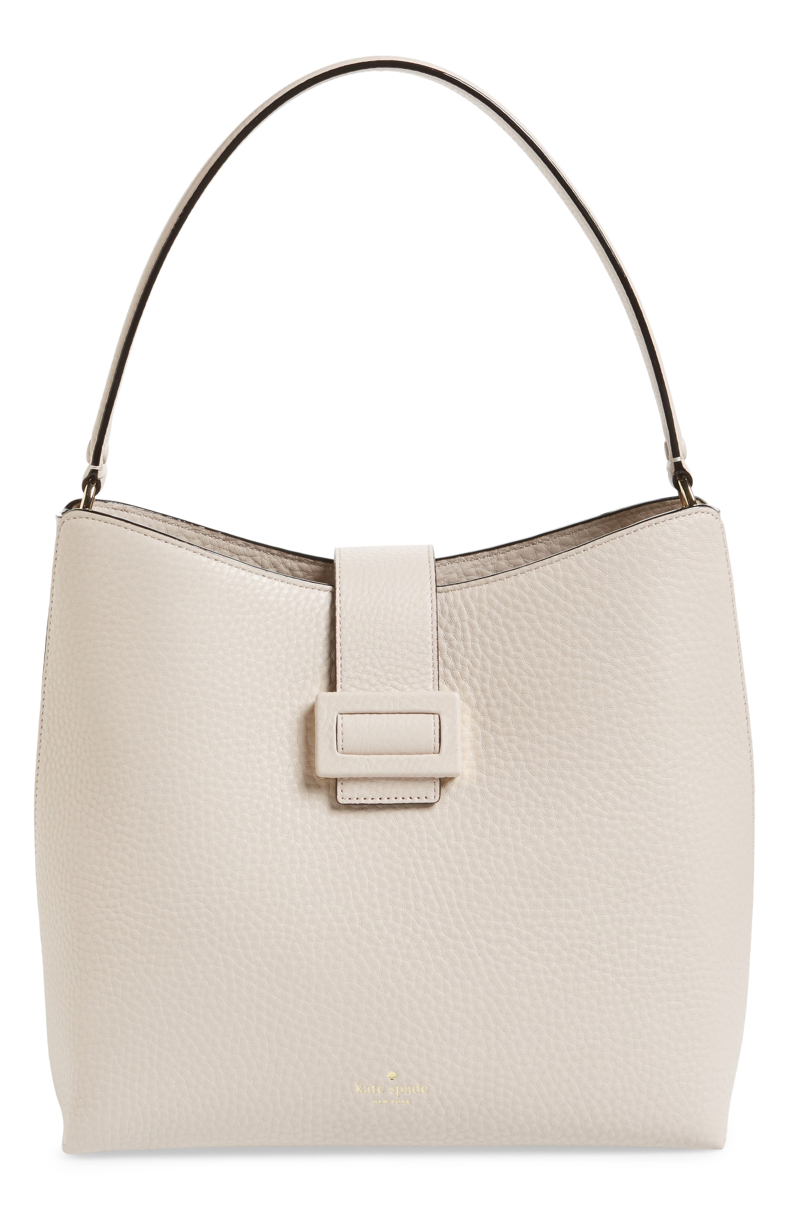 carlyle street – marea leather hobo,                         Main,                         color, Warm Marshmallow