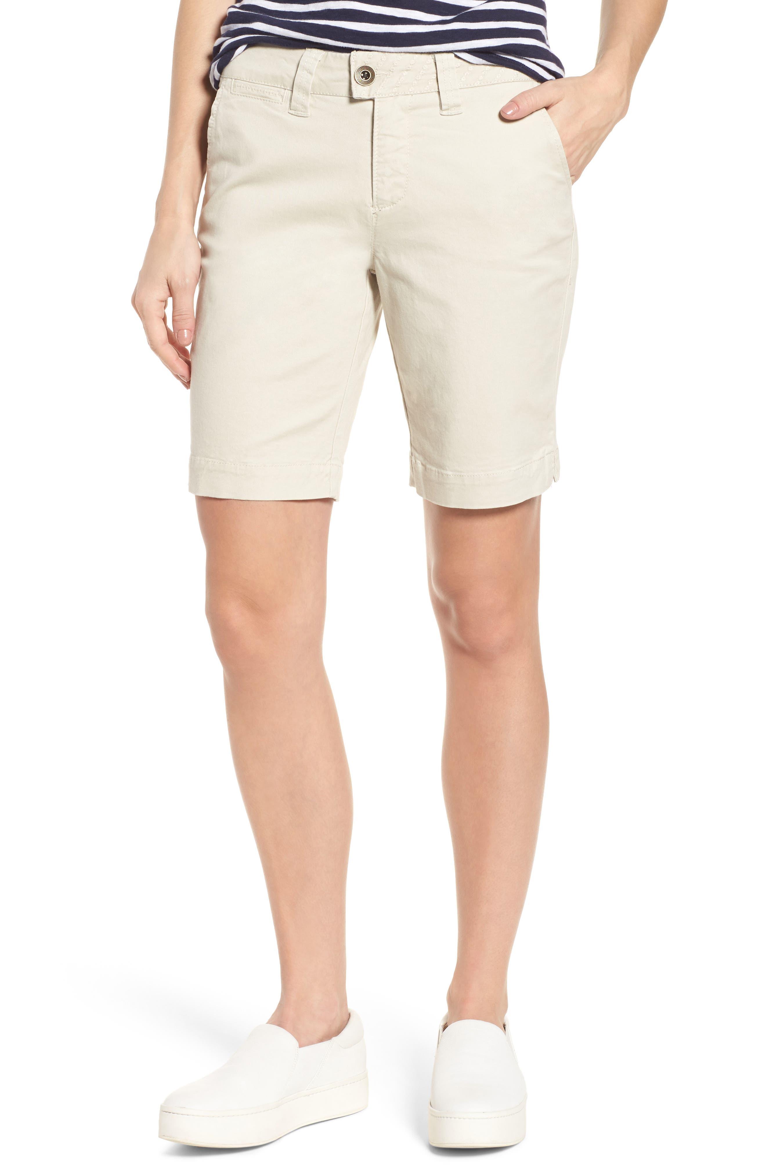 Creston Twill Shorts,                         Main,                         color, Stone