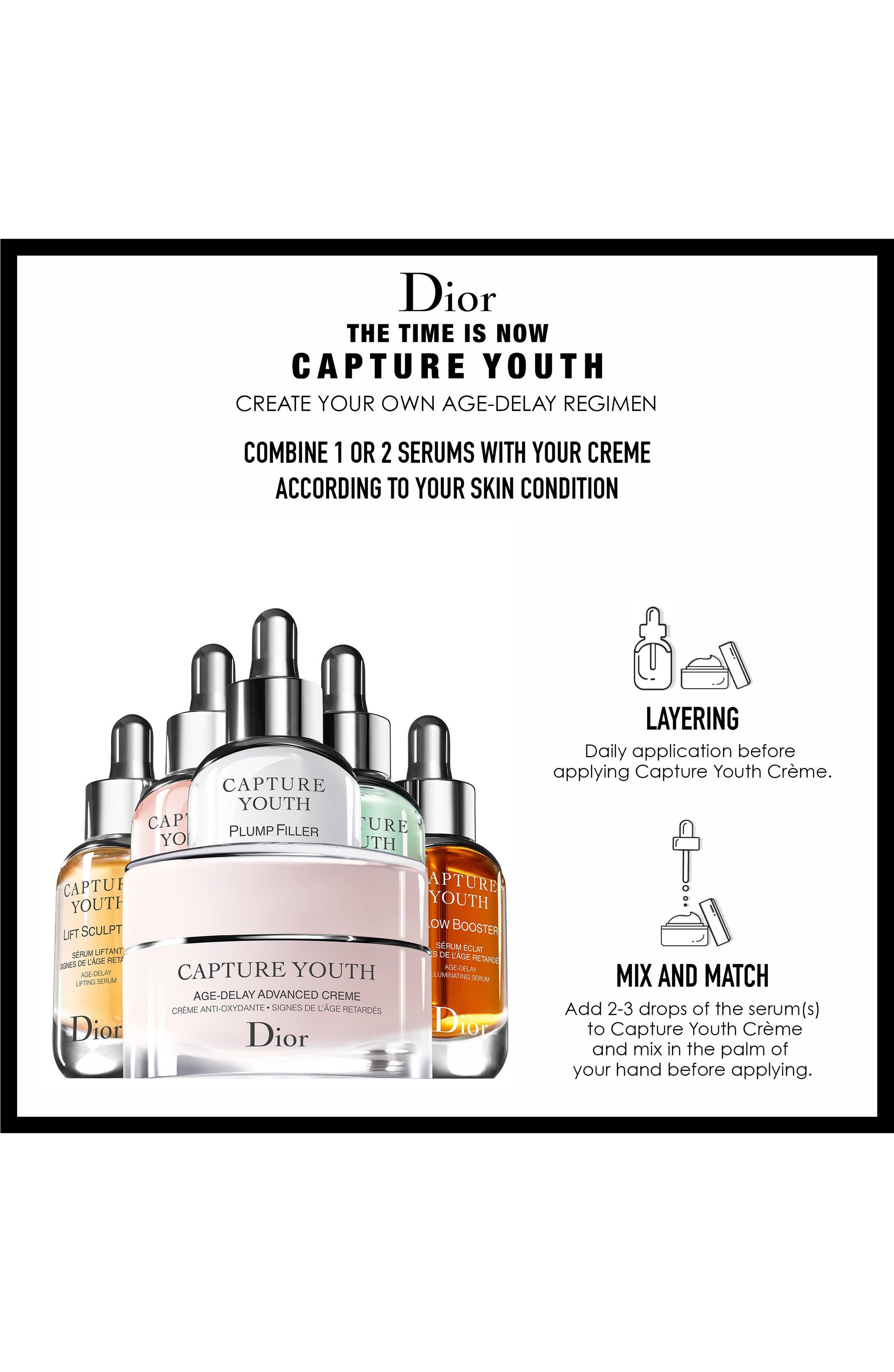 Capture Youth Glow Booster Age-Delay Illuminating Serum,                             Alternate thumbnail 6, color,                             No Color