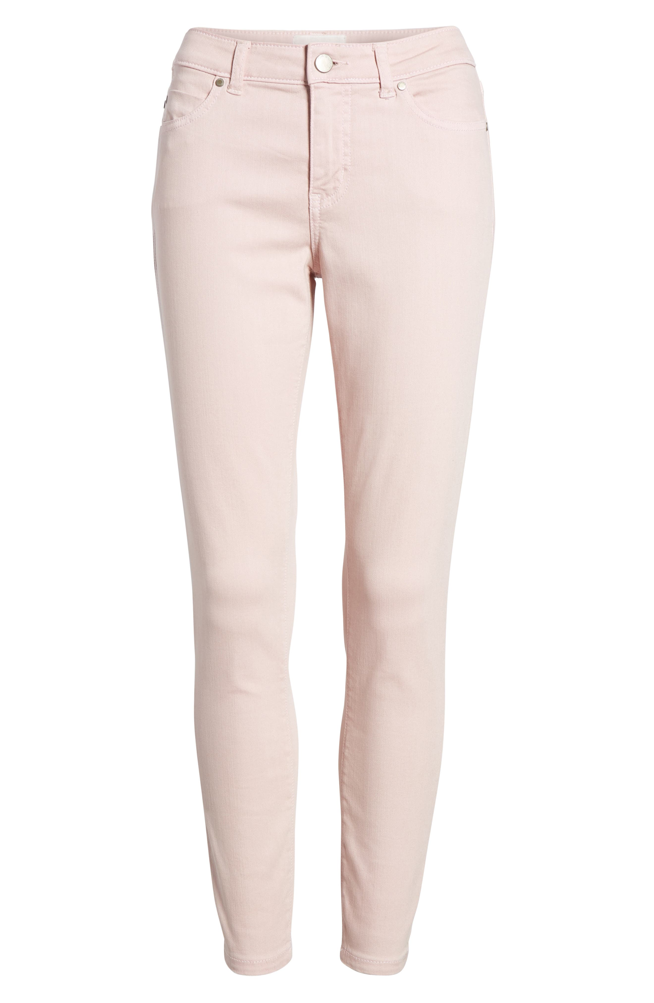 Alternate Image 6  - Caslon® Skinny Ankle Jeans (Regular & Petite)