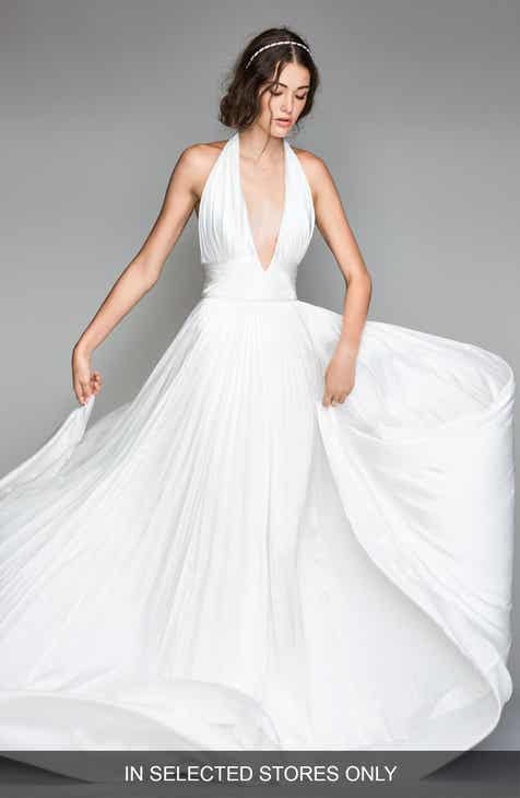 Halter Wedding Dresses & Bridal Gowns | Nordstrom