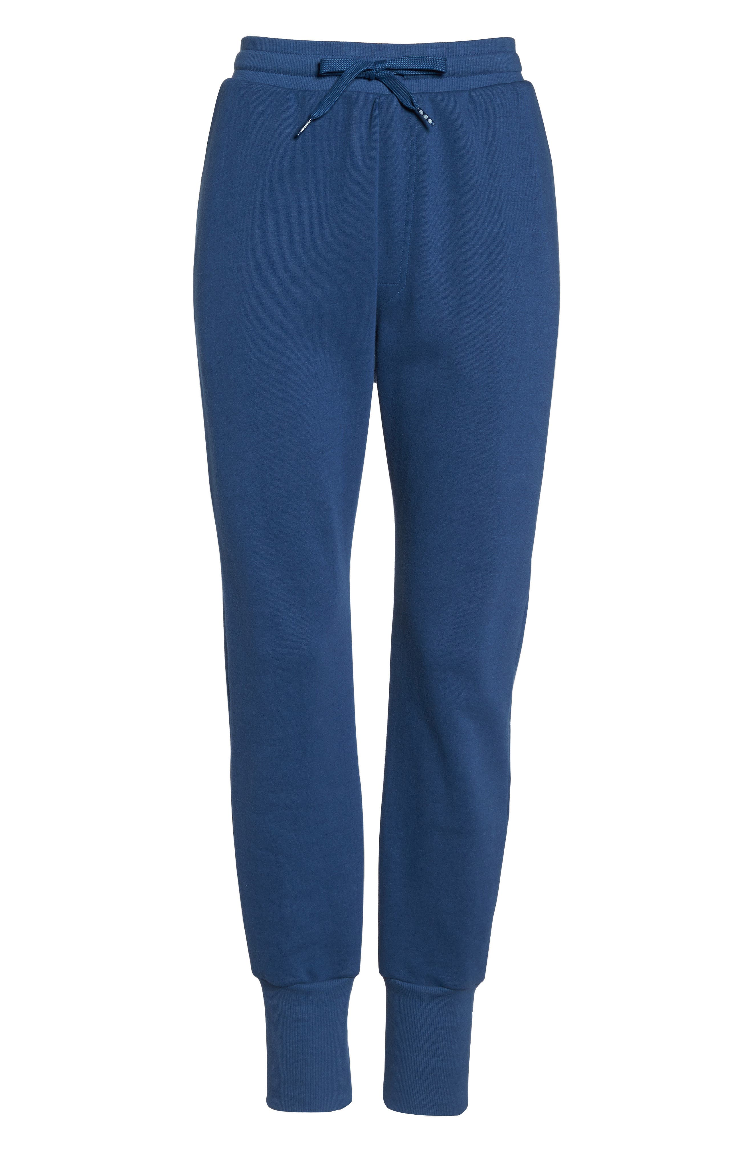DC Jogger Pants,                             Alternate thumbnail 8, color,                             Washed Blue