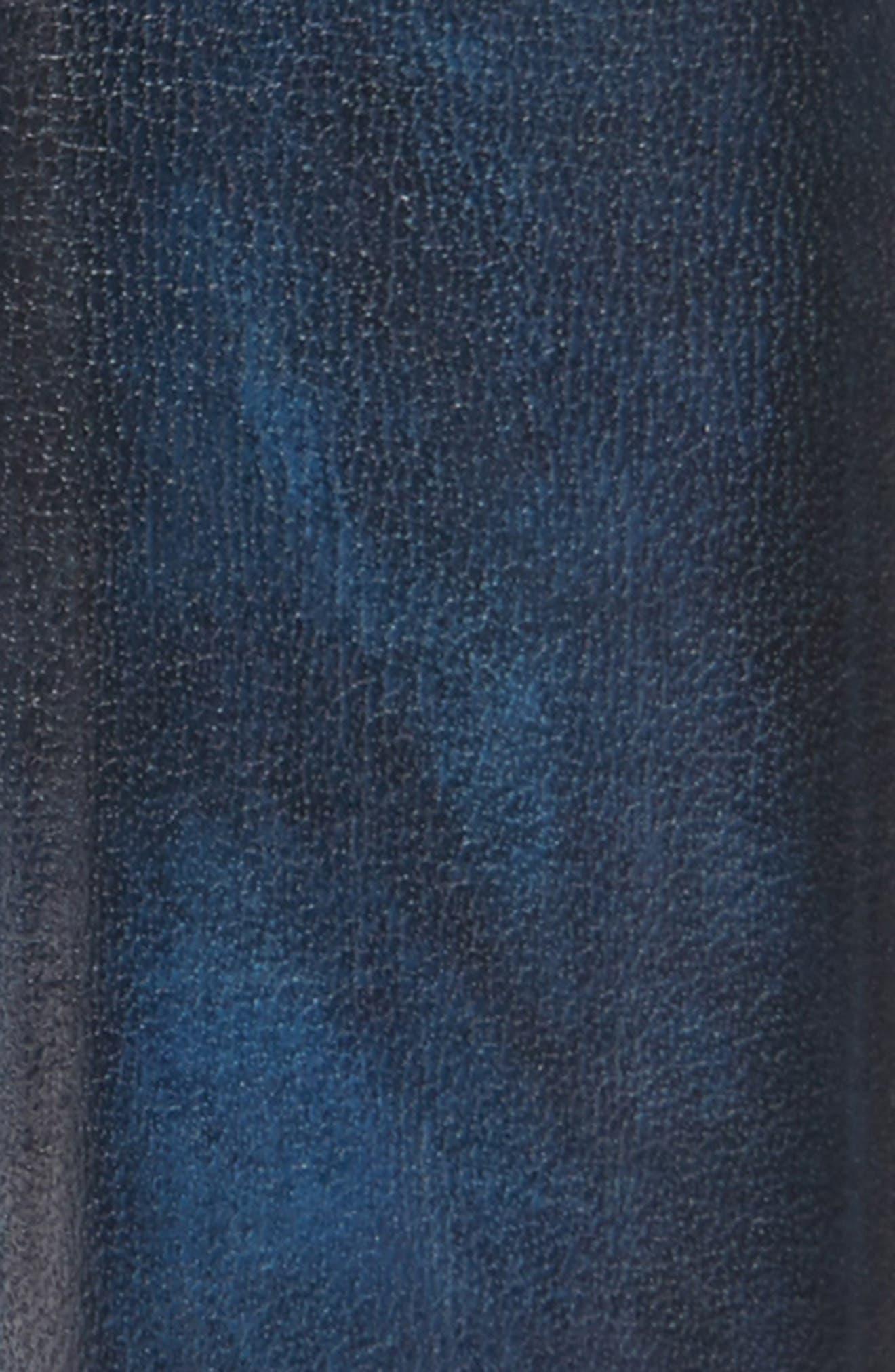 Wind Leather Belt,                             Alternate thumbnail 2, color,                             Royal