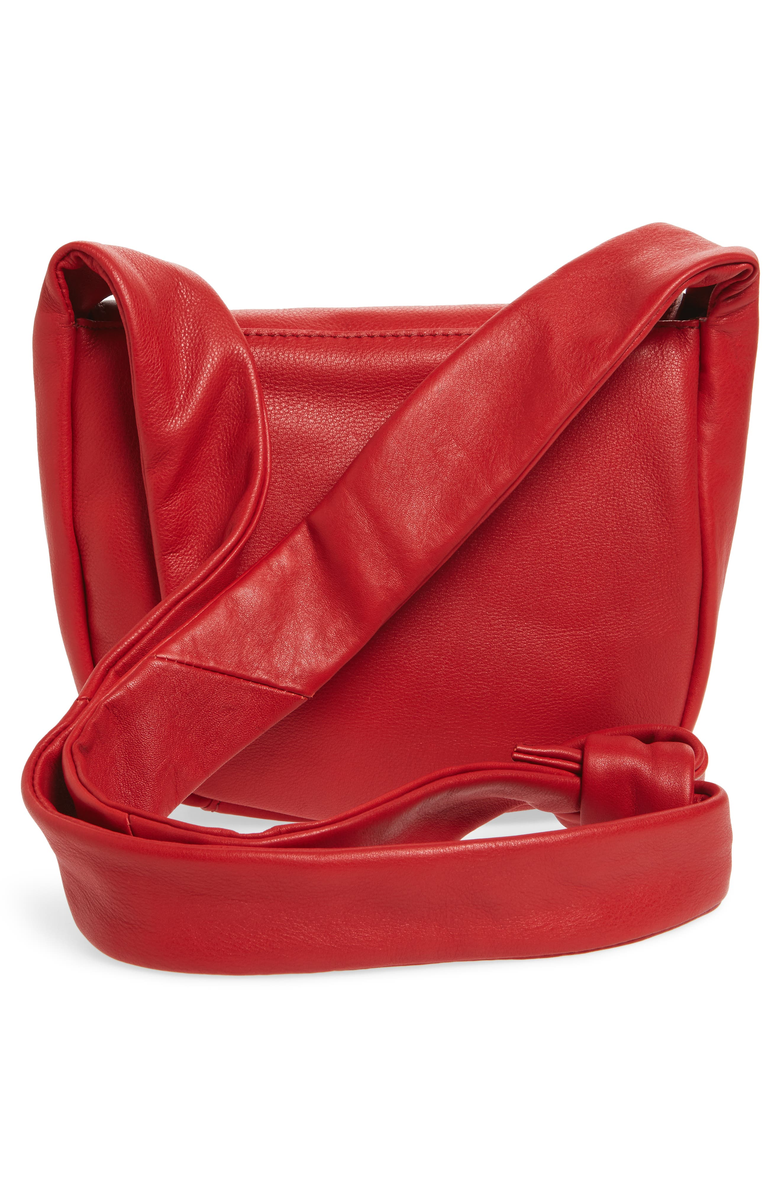 Alternate Image 3  - Topshop Jasmine Leather Saddle Bag
