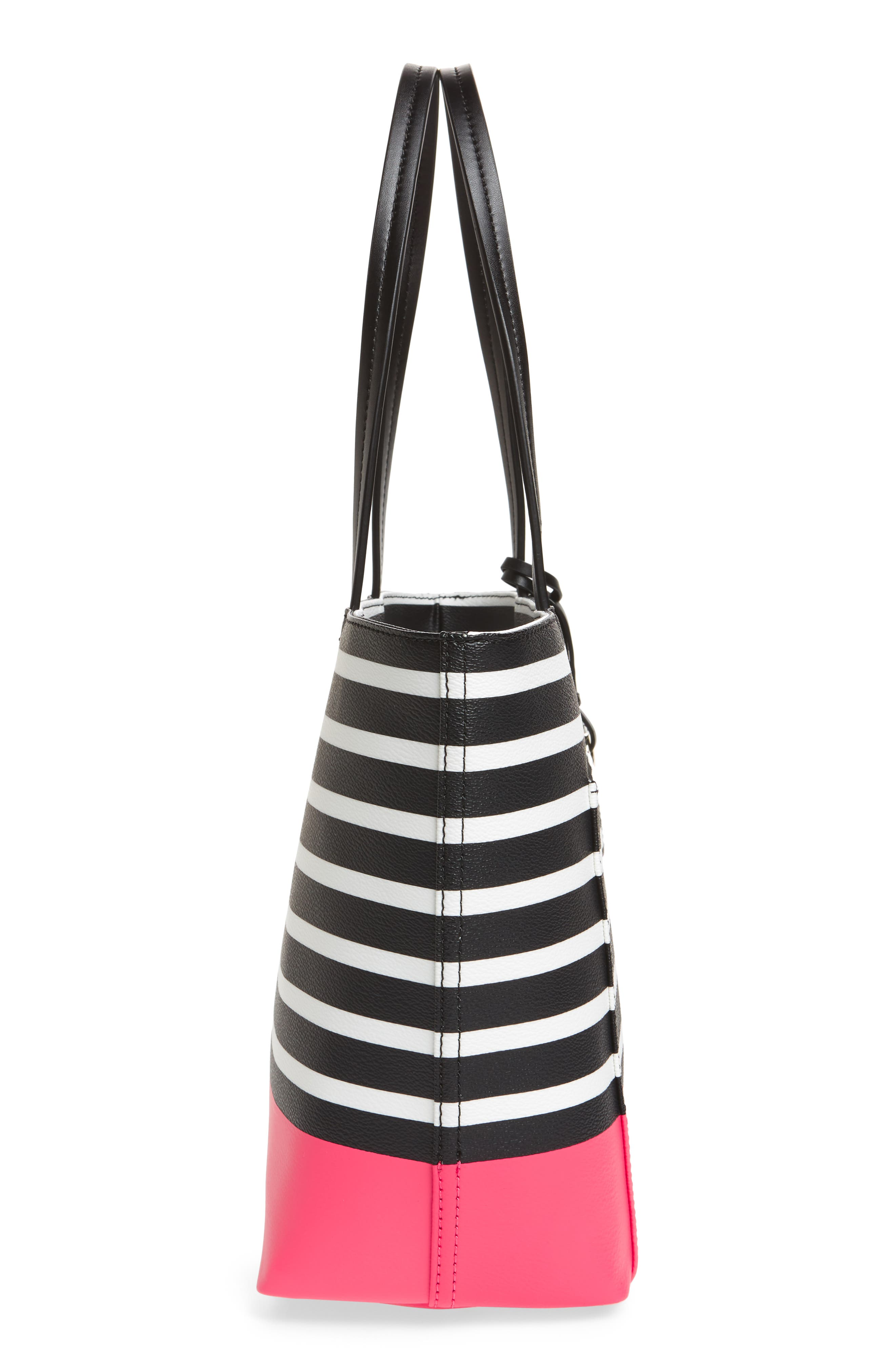 Alternate Image 4  - kate spade new york hyde lane dipped stripe - small riley tote
