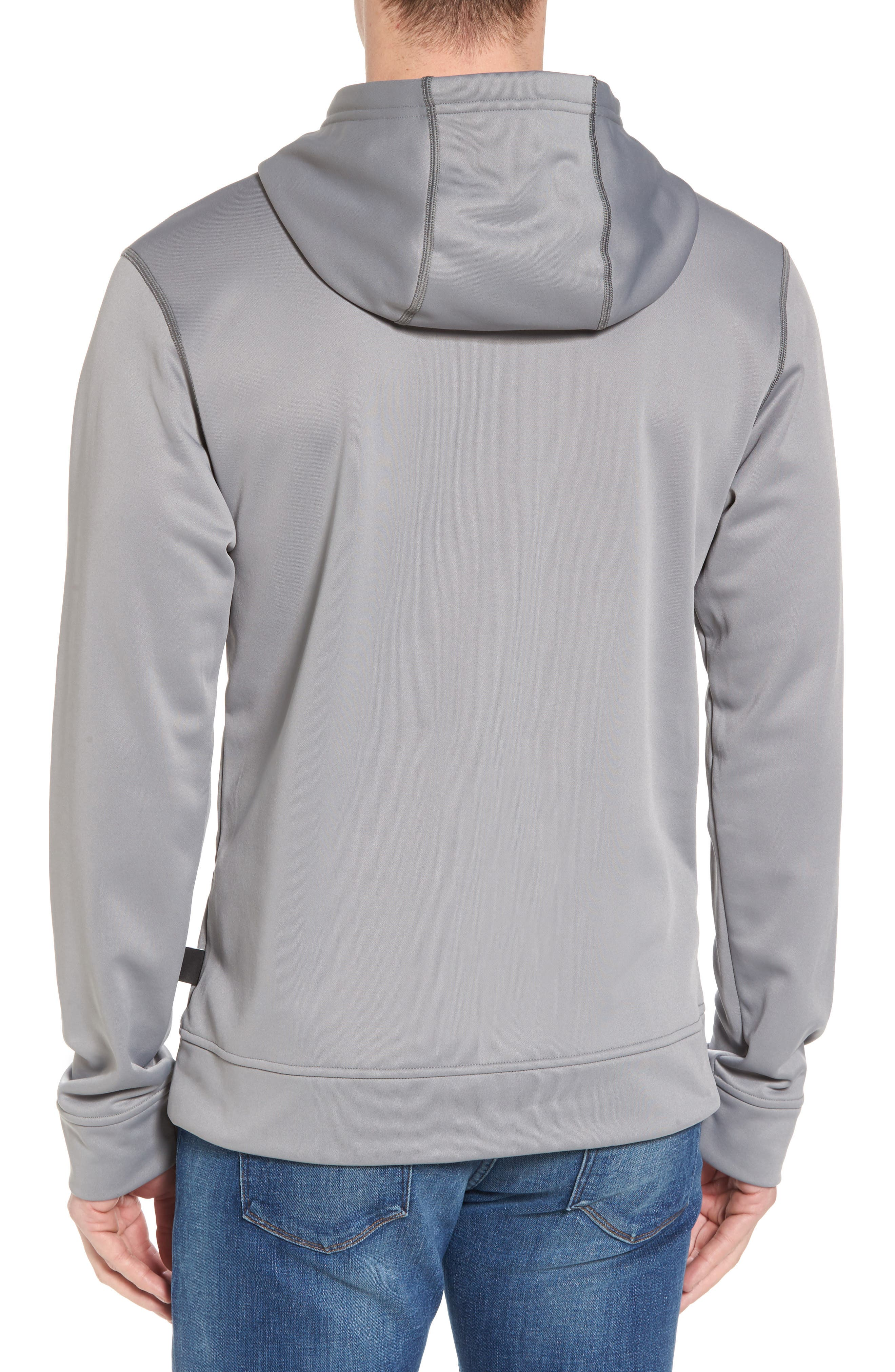 Polycycle Hoodie,                             Alternate thumbnail 2, color,                             Feather Grey/ White