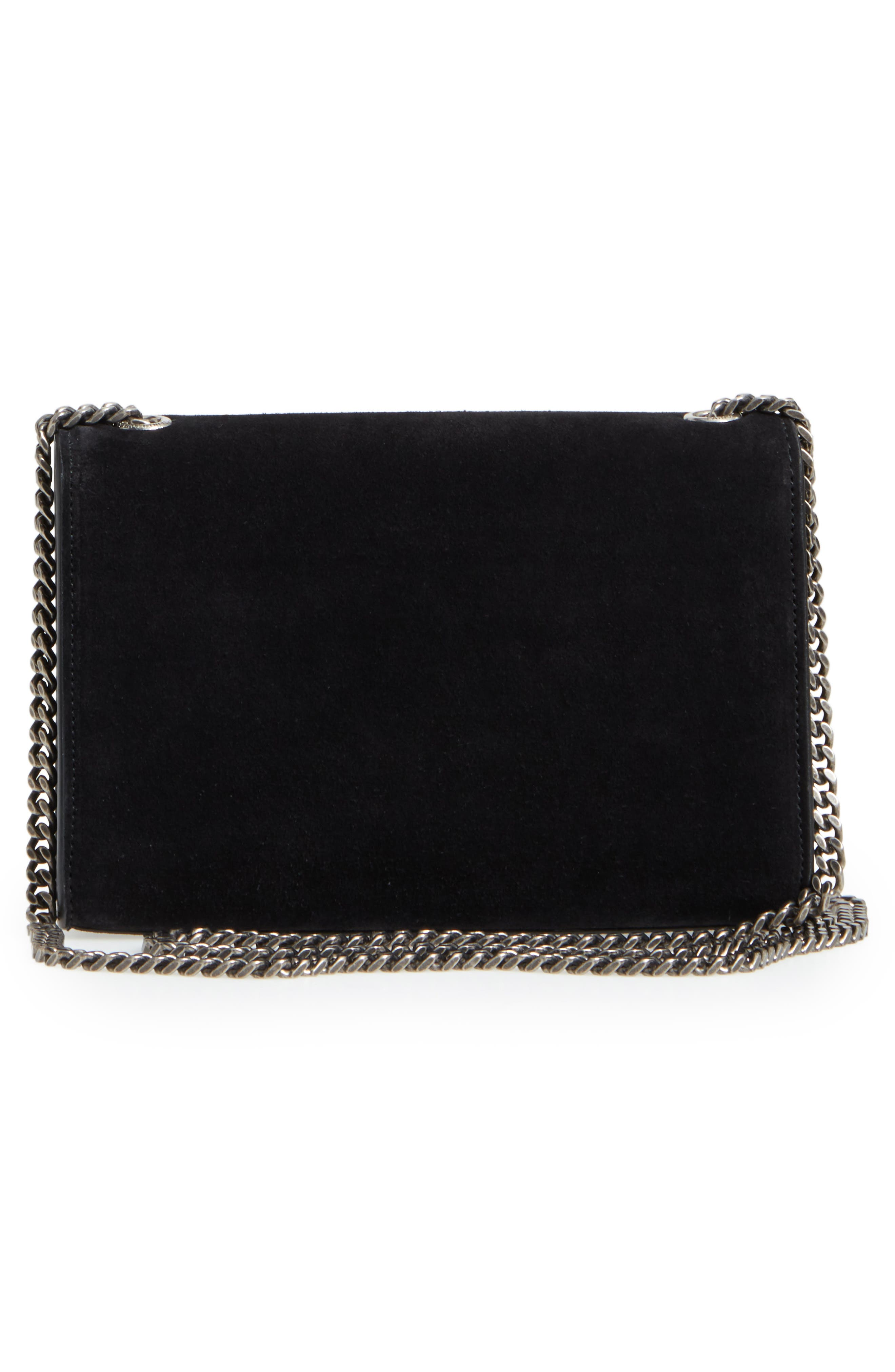 Small Kate Studded Leather Crossbody Bag,                             Alternate thumbnail 3, color,                             Noir Multi