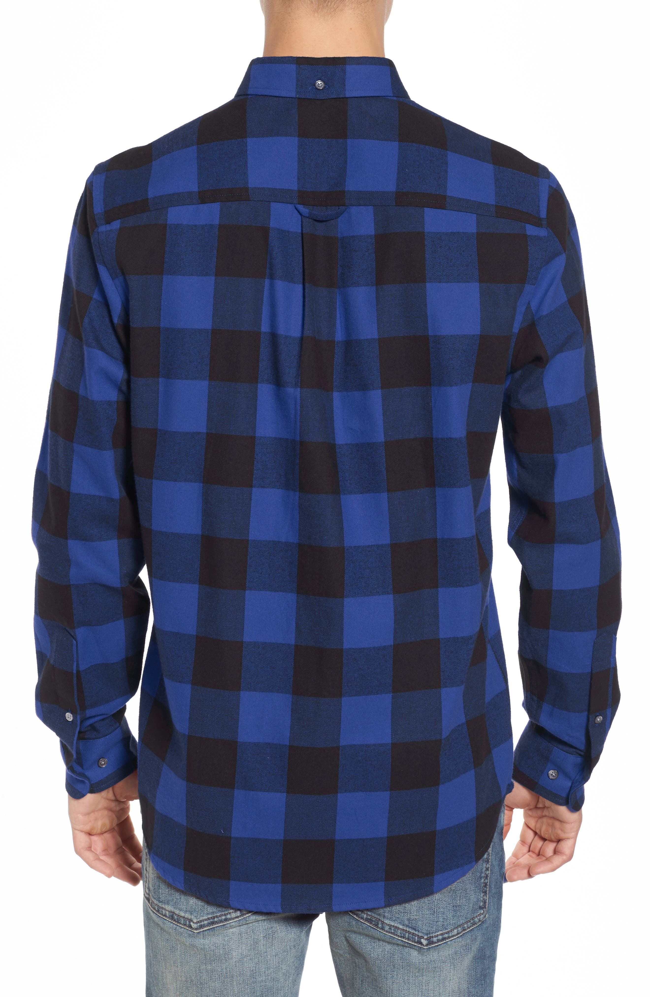 Alternate Image 2  - WeSC Olavi Check Flannel Shirt