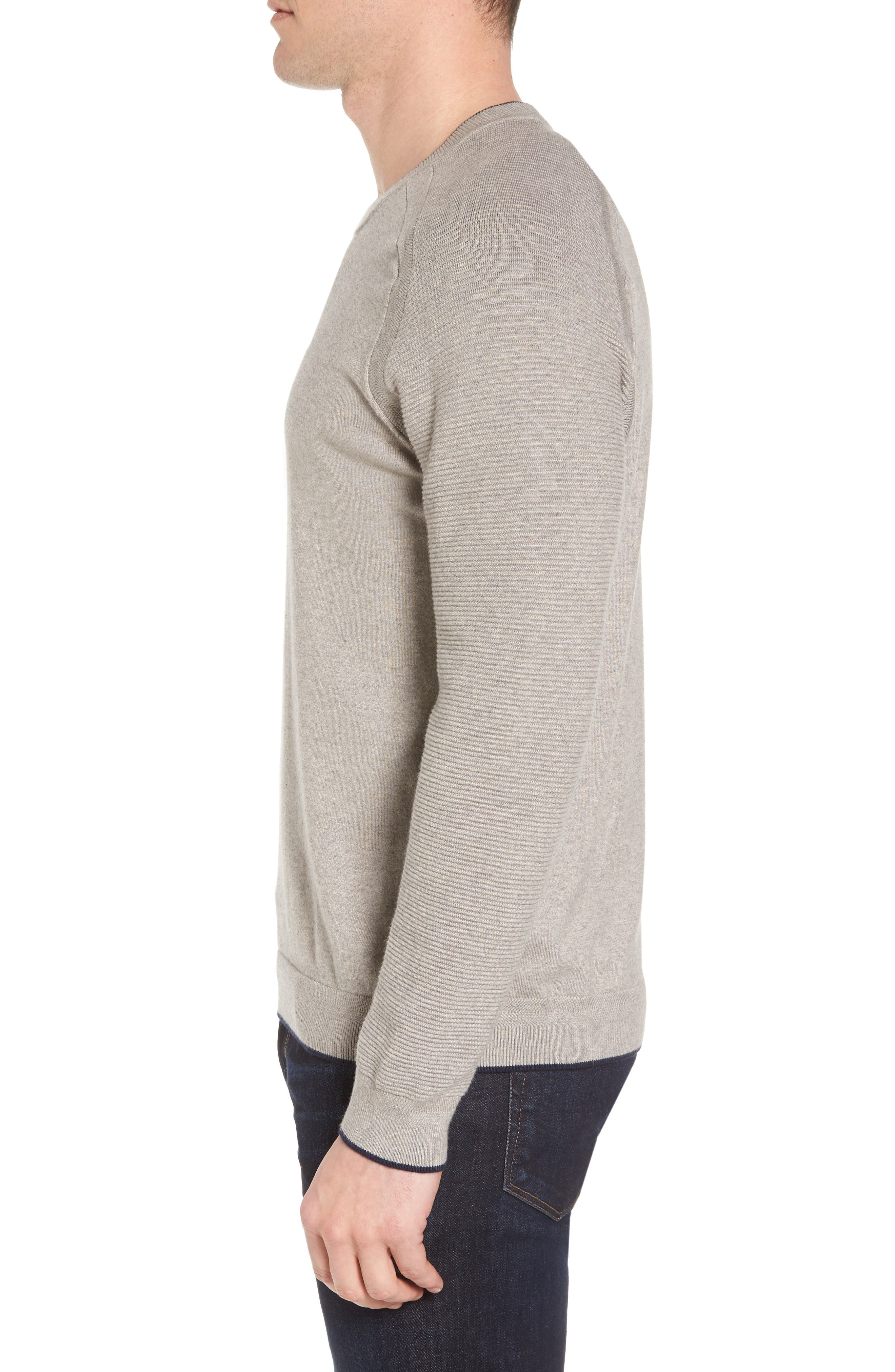 Alternate Image 3  - Ted Baker London Kayfed Rib Sleeve Sweater