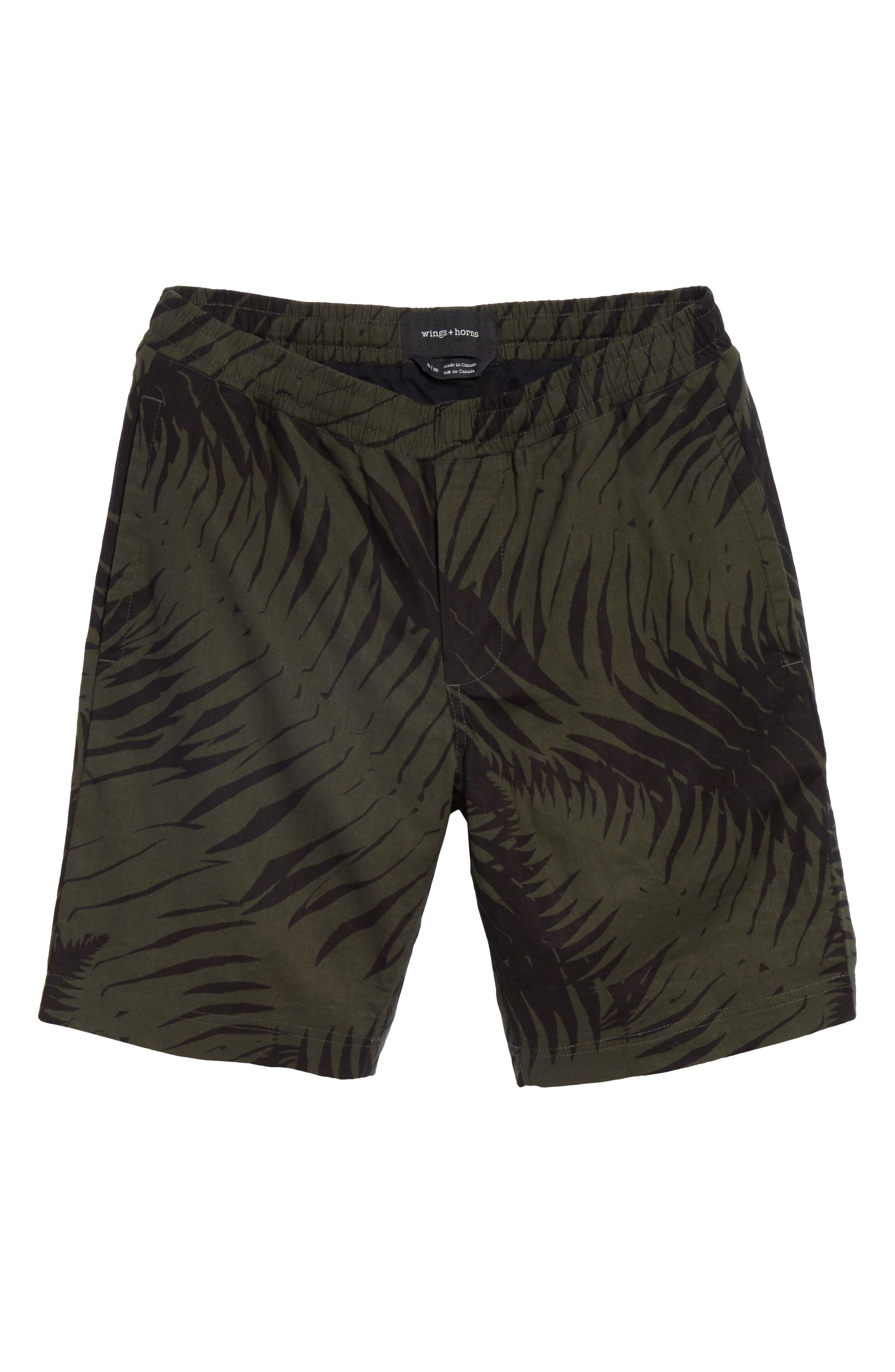 Sword Fern Patrol Shorts,                             Alternate thumbnail 6, color,                             Jungle Green
