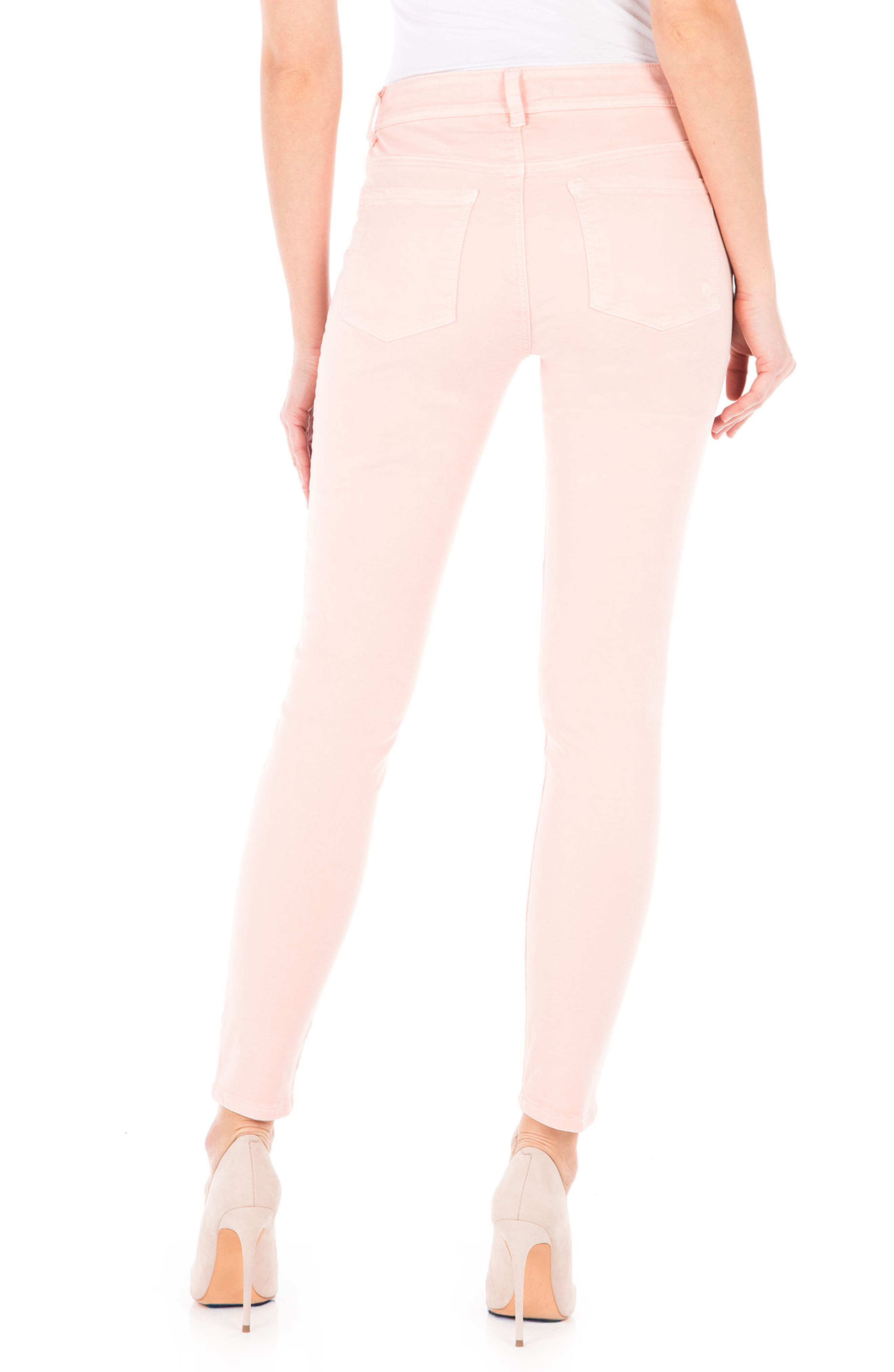 Alternate Image 2  - Fidelity Denim Sola Skinny Jeans (Dusty Rose)