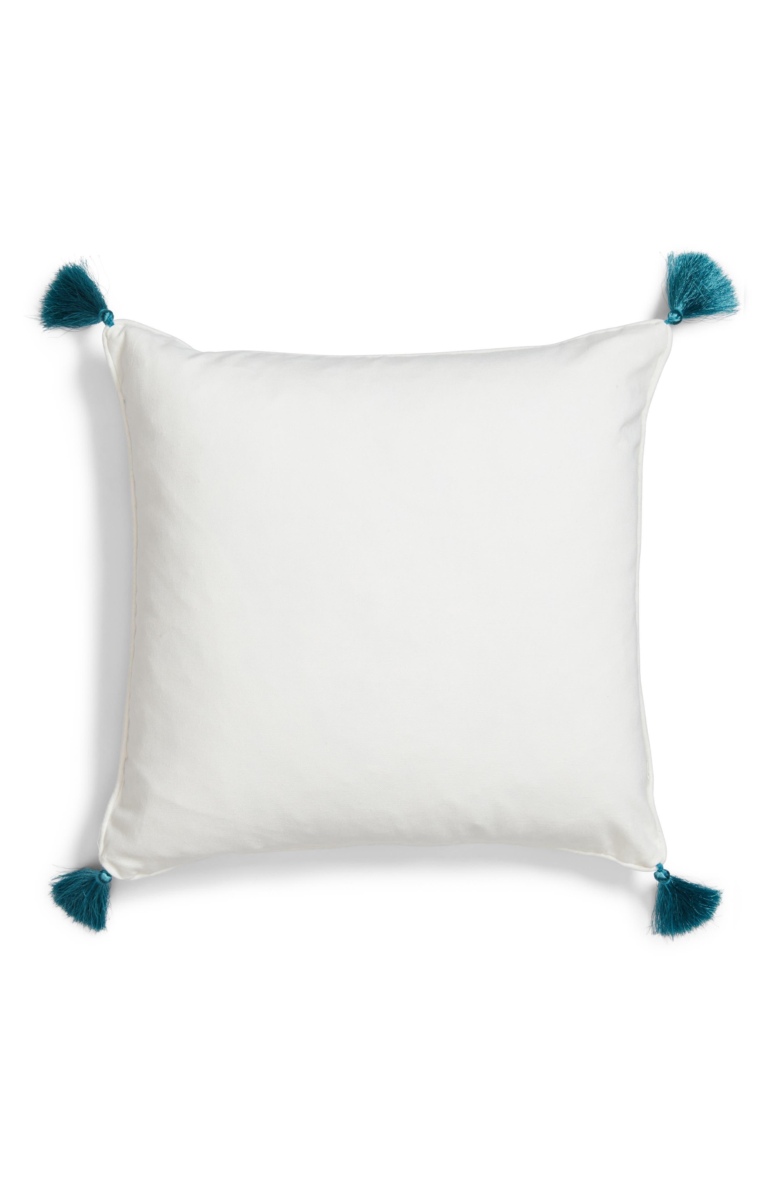 Luca Accent Pillow,                             Alternate thumbnail 3, color,                             Green