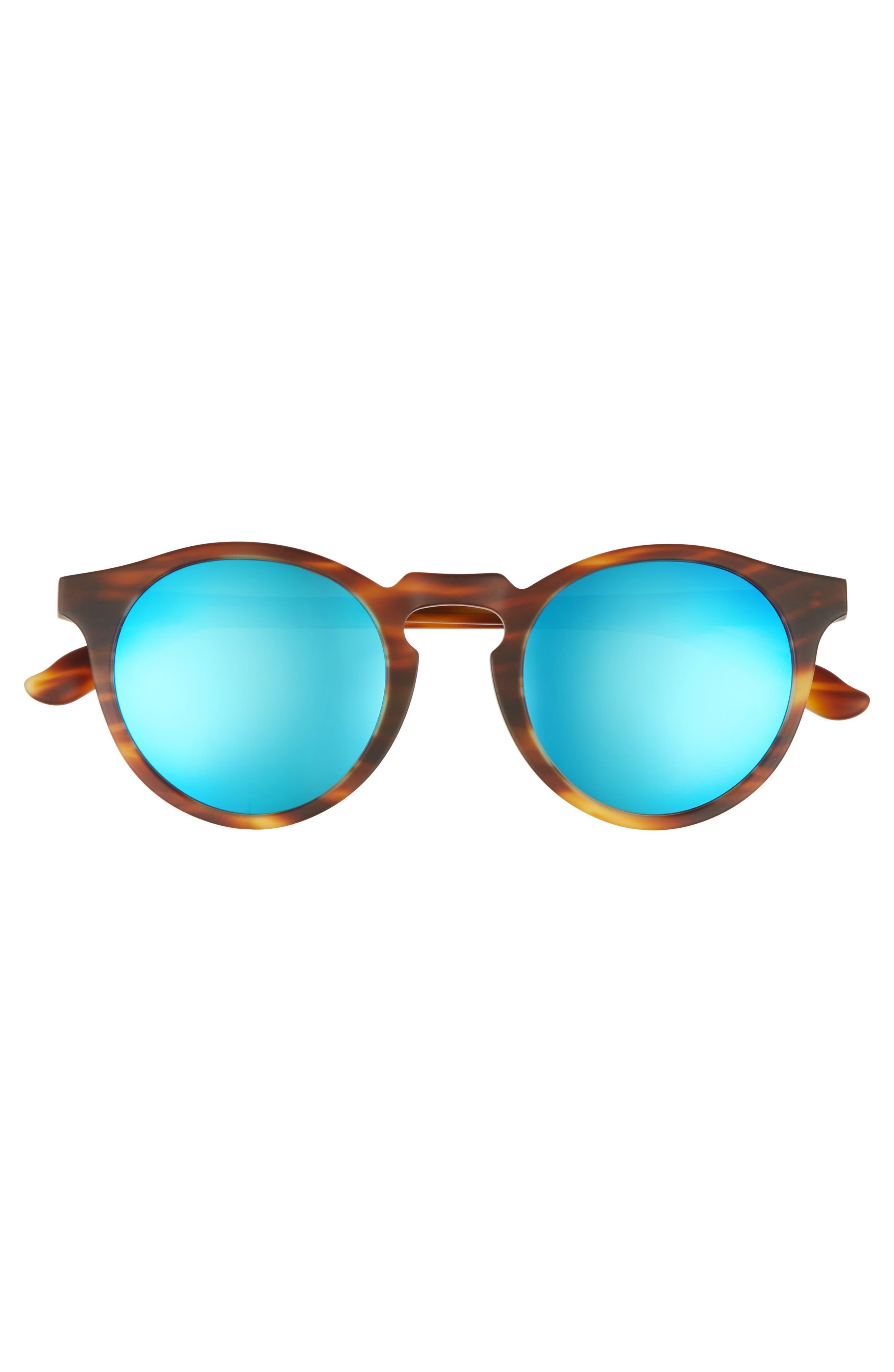 Alternate Image 3  - Maho Stockholm 48mm Polarized Round Sunglasses