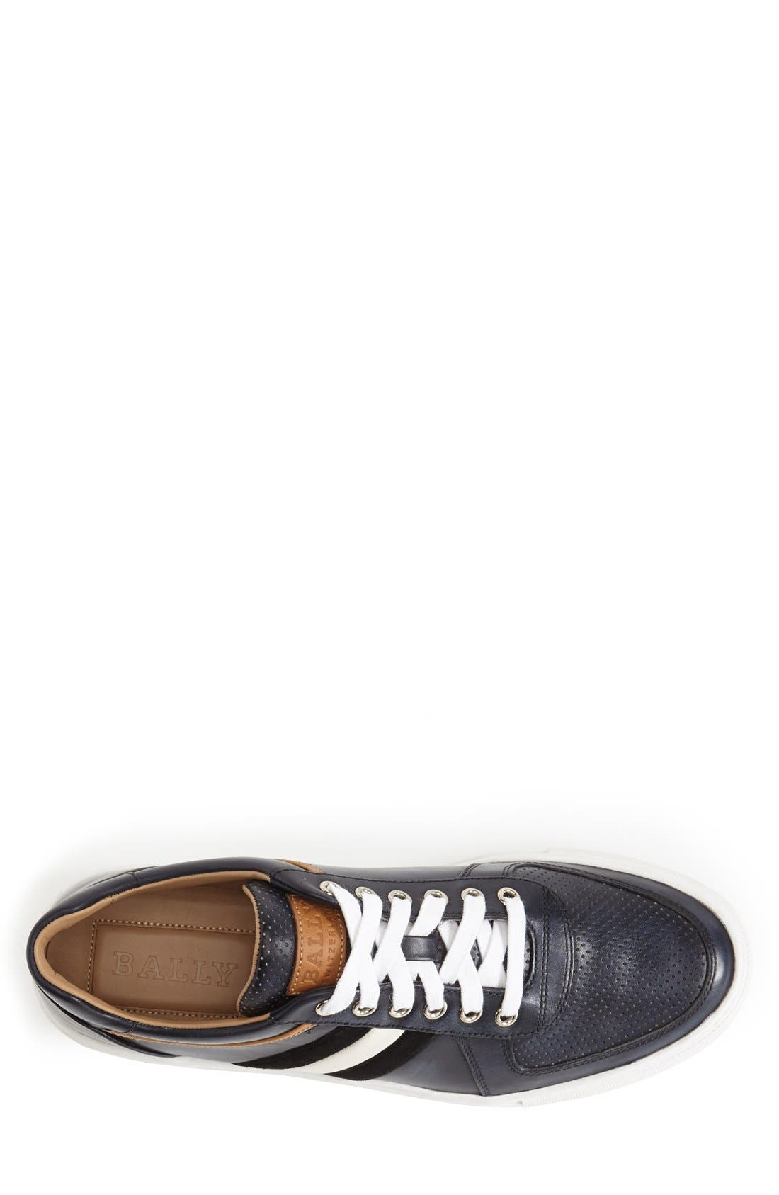 Alternate Image 3  - Bally 'Heider' Leather Sneaker (Men)