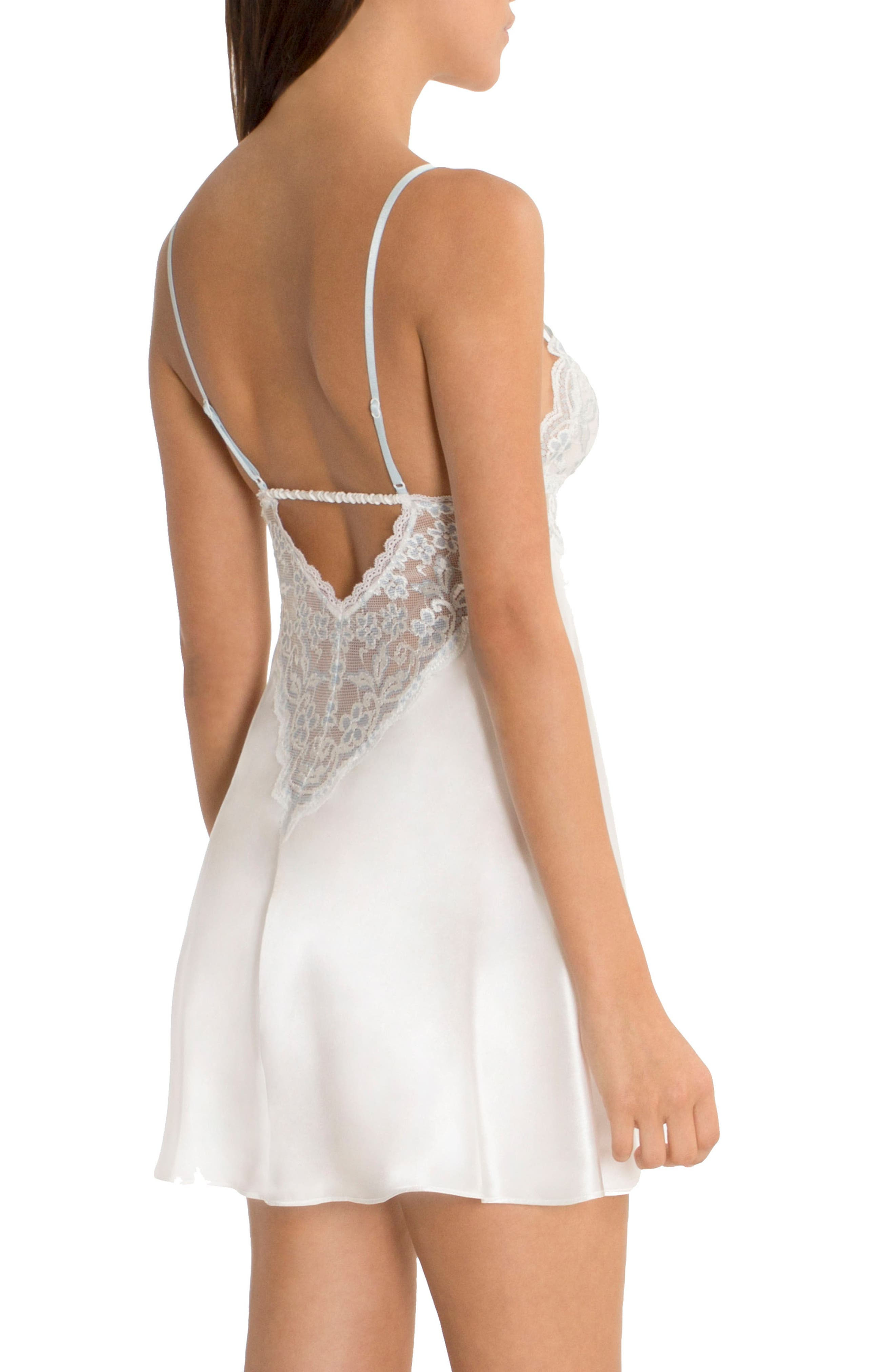Alternate Image 2  - In Bloom by Jonquil Lace Chemise