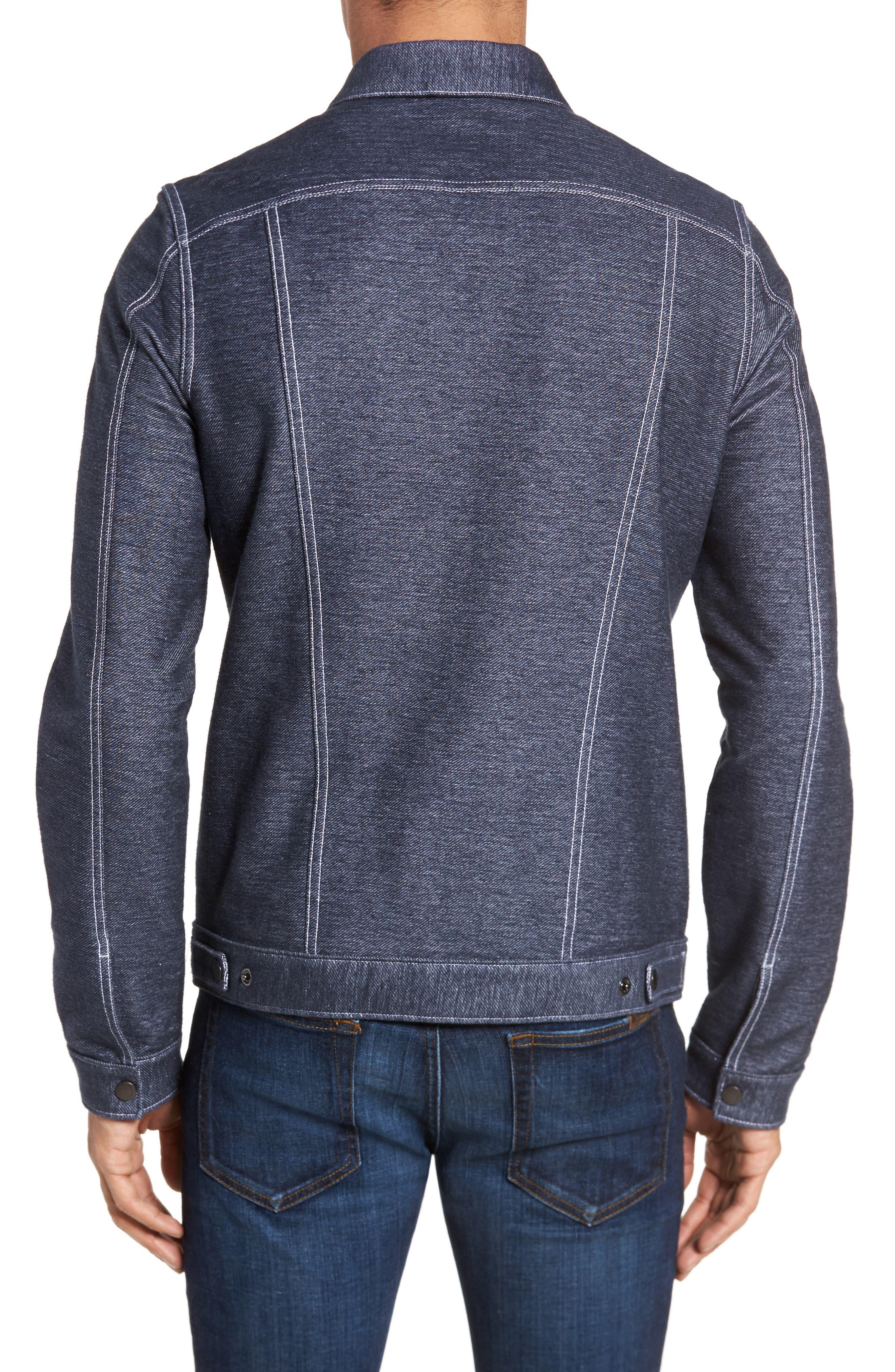 Sigmon Stretch Denim Jacket,                             Alternate thumbnail 2, color,                             Blue