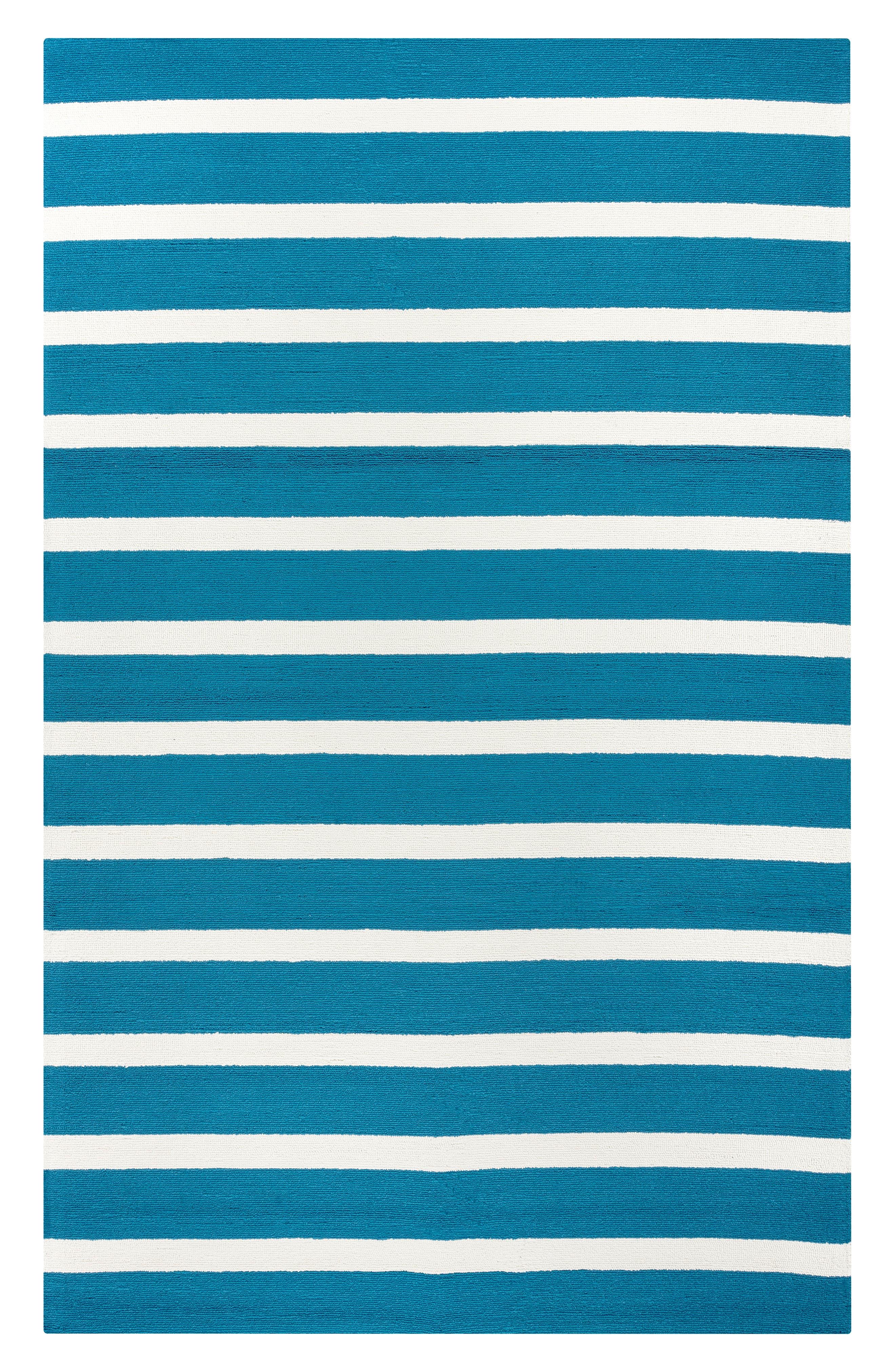Azzura Hill Jenny Hand Tufted Rug,                             Main thumbnail 1, color,                             Marine Blue